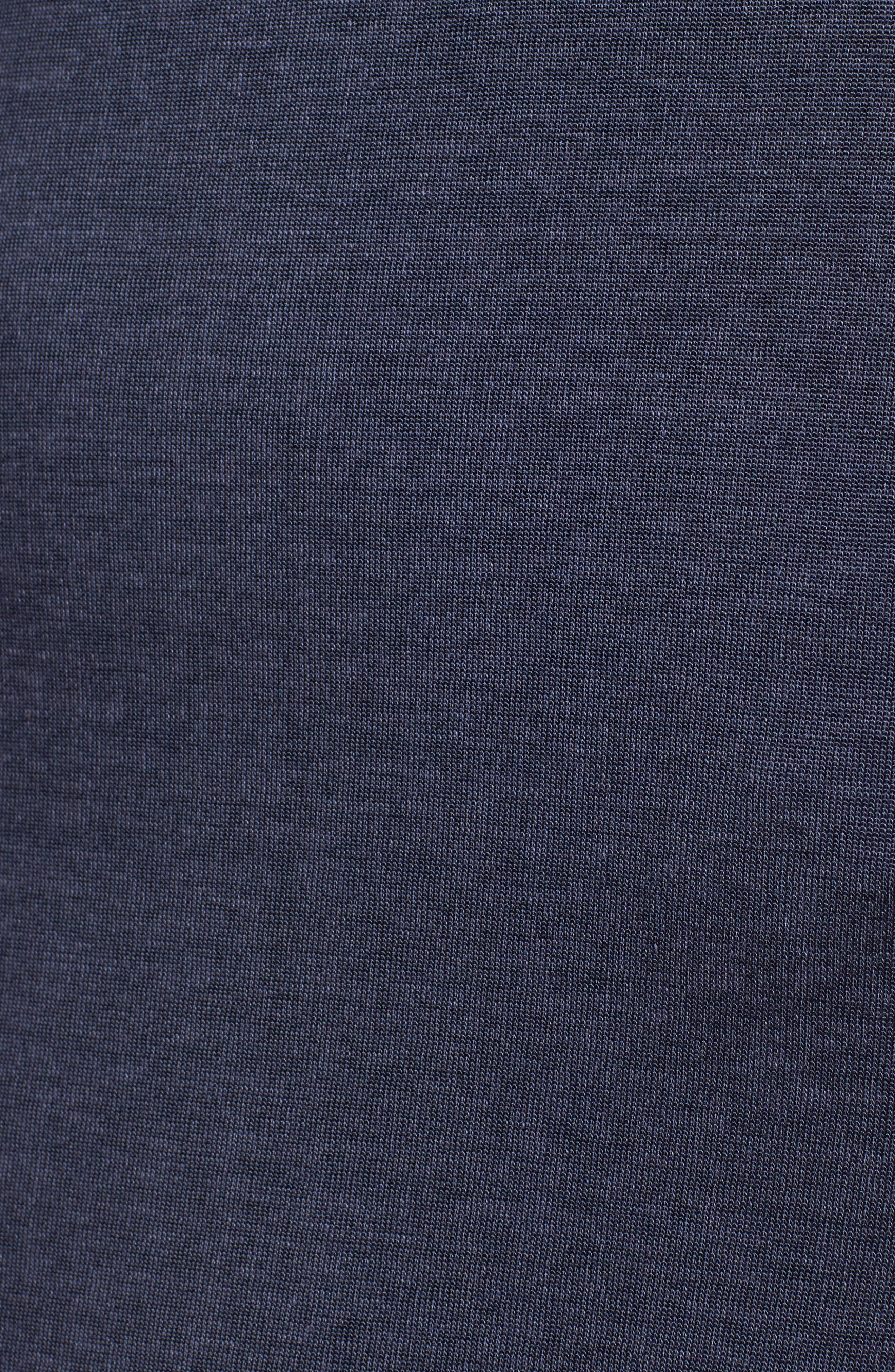 Dolostone Jersey Shift Dress,                             Alternate thumbnail 5, color,                             410