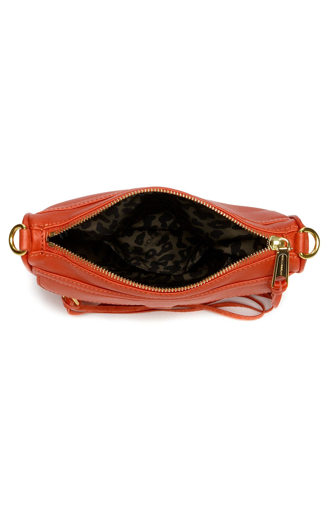 'Mini MAC' Croc Embossed Convertible Crossbody Bag,                             Alternate thumbnail 42, color,