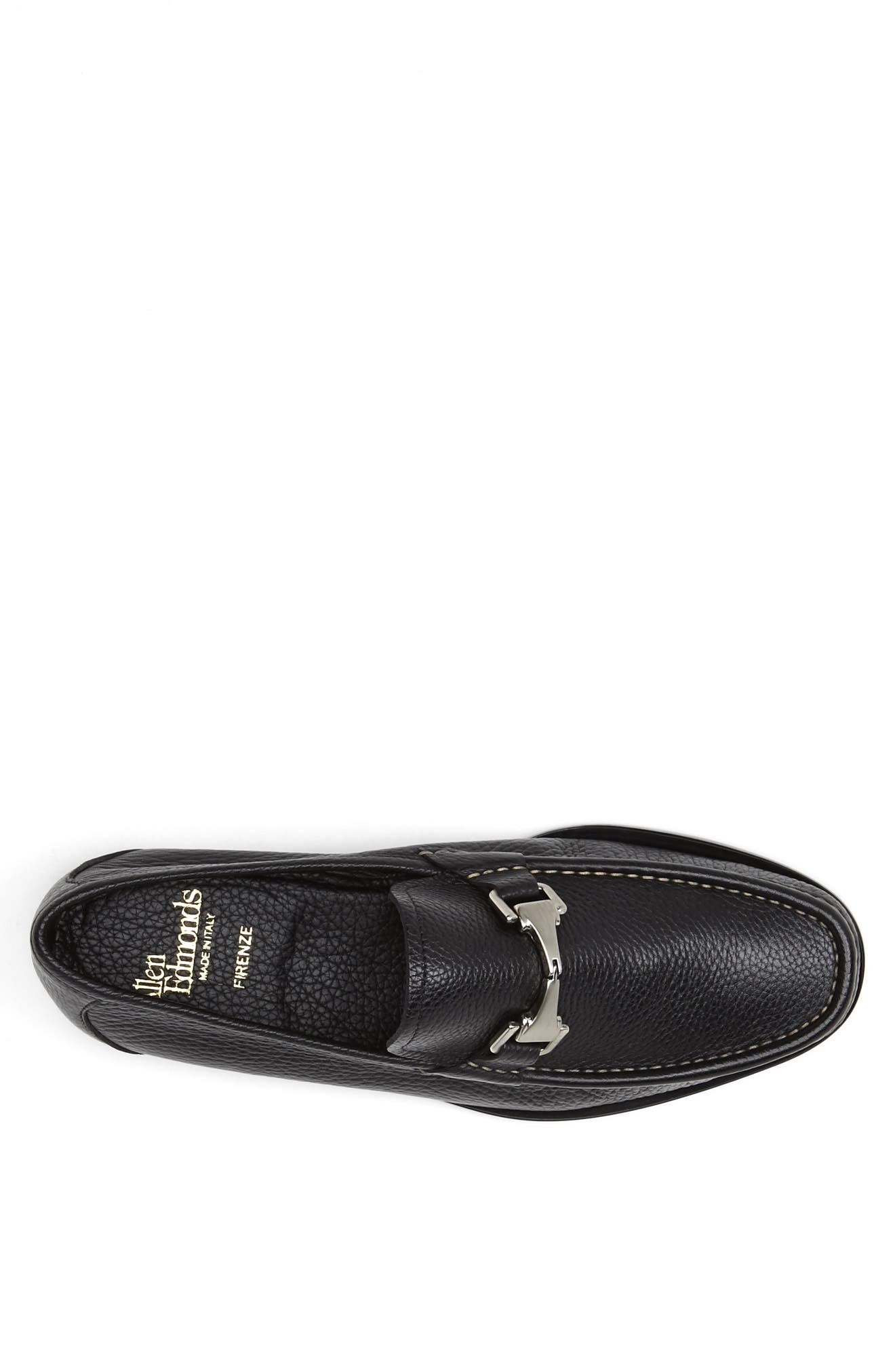 'Firenze' Bit Loafer,                             Alternate thumbnail 4, color,                             001
