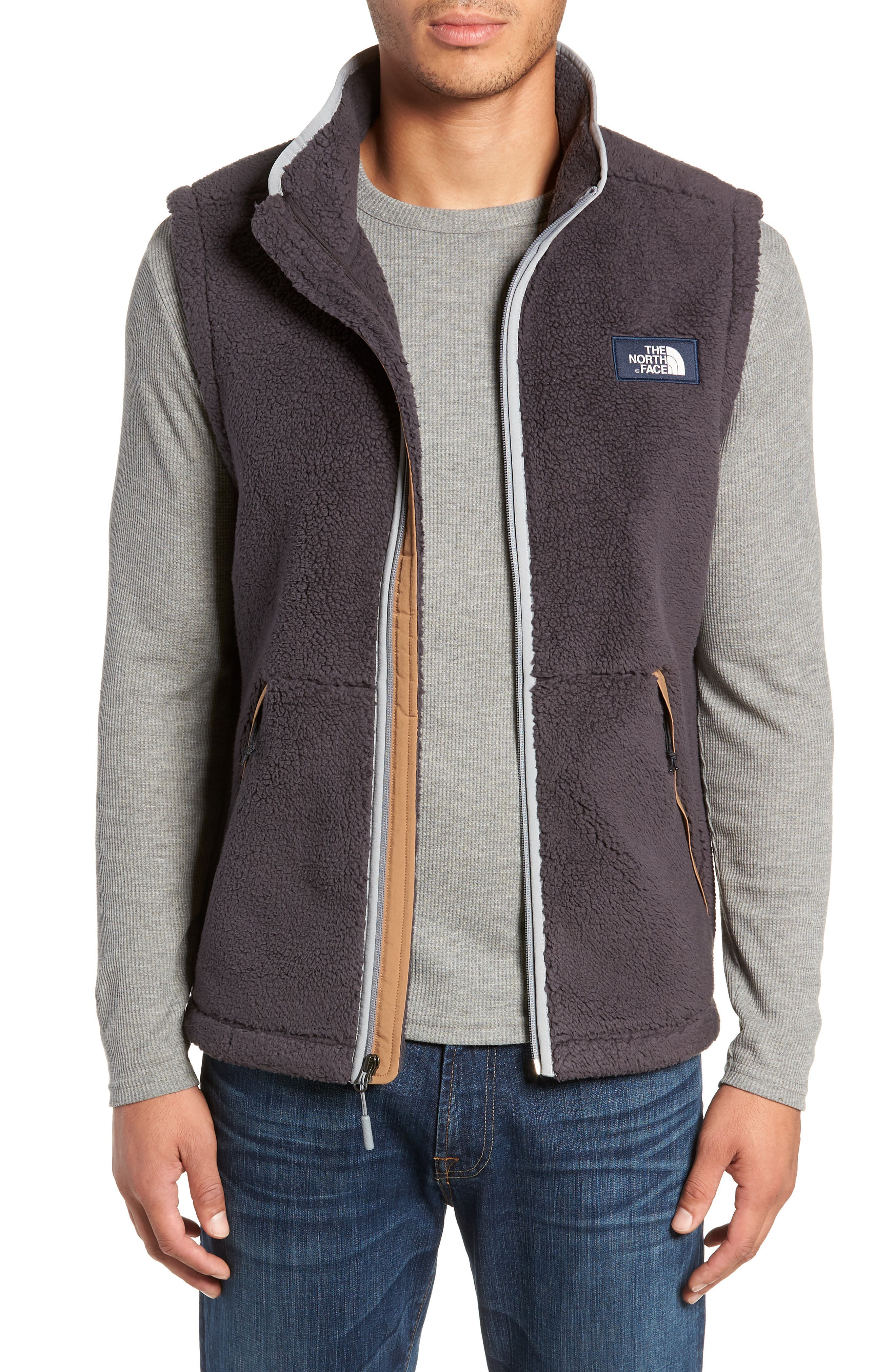 The North Face Campshire Fleece Vest, Black
