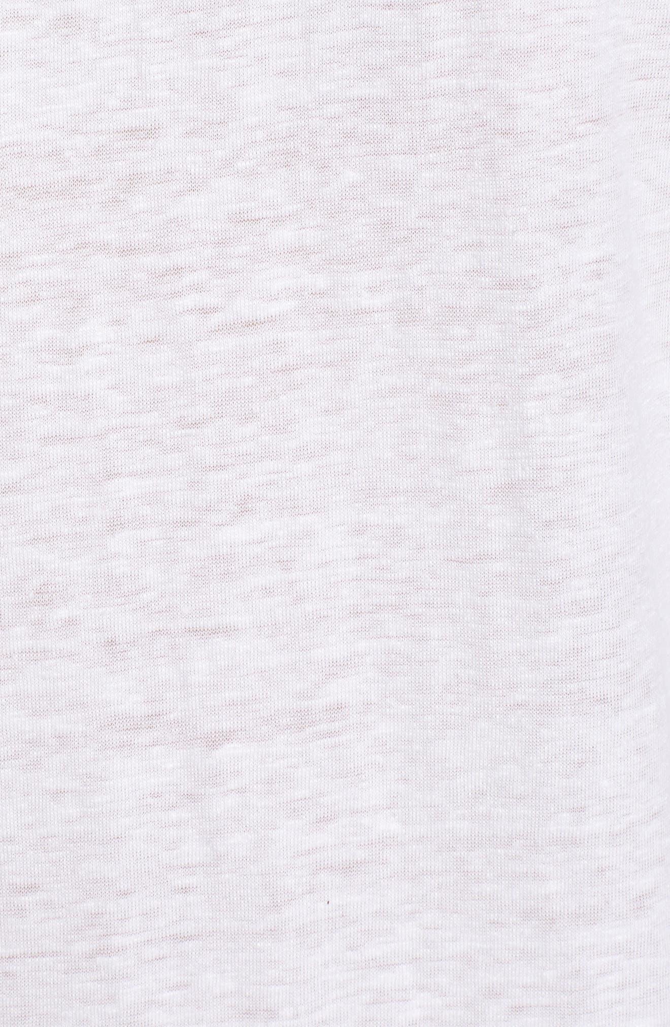 Slouchy Organic Linen Top,                             Alternate thumbnail 31, color,