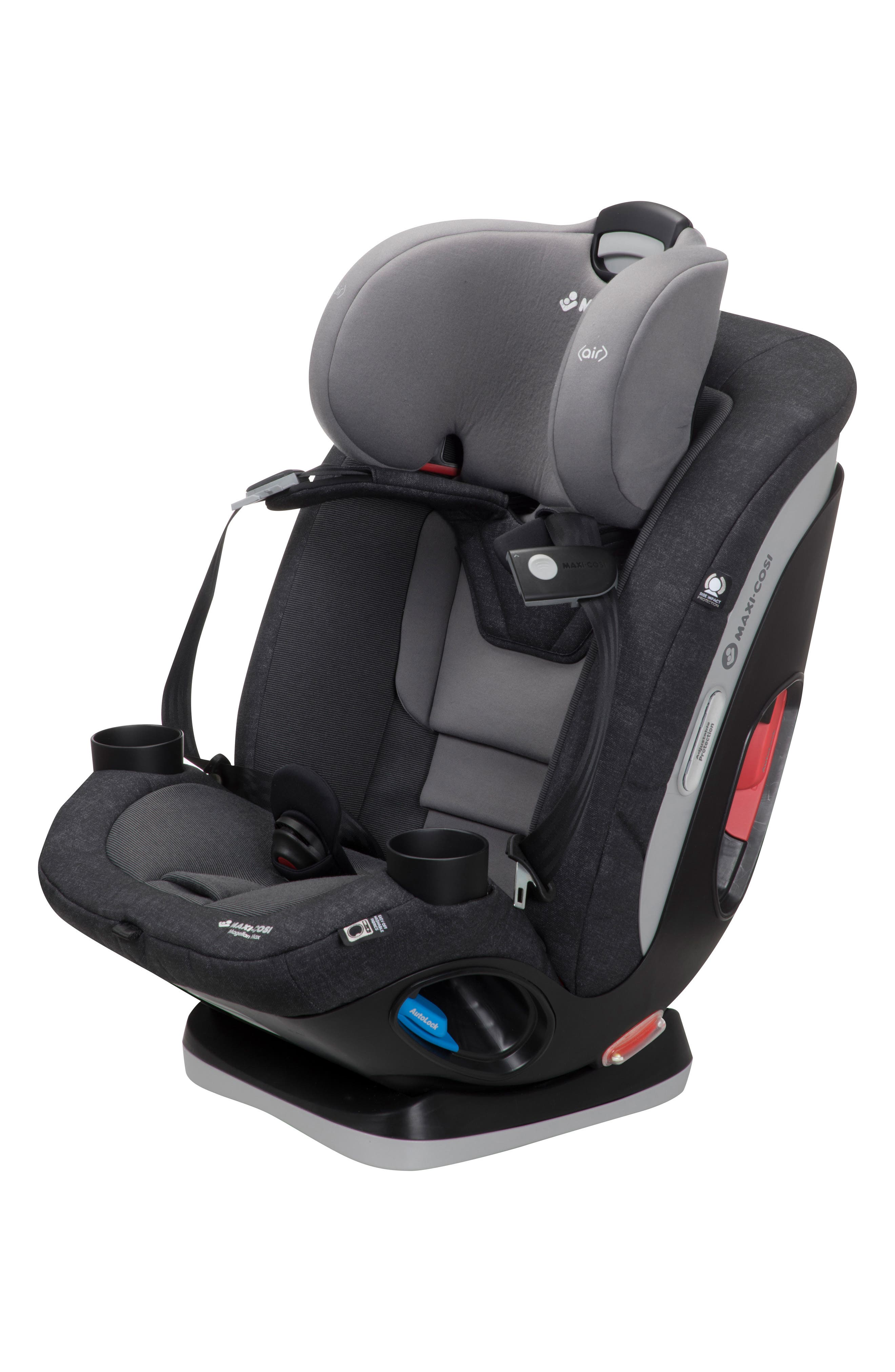 Magellan Max 2018 5-in-1 Convertible Car Seat,                             Alternate thumbnail 7, color,                             NOMAD BLACK