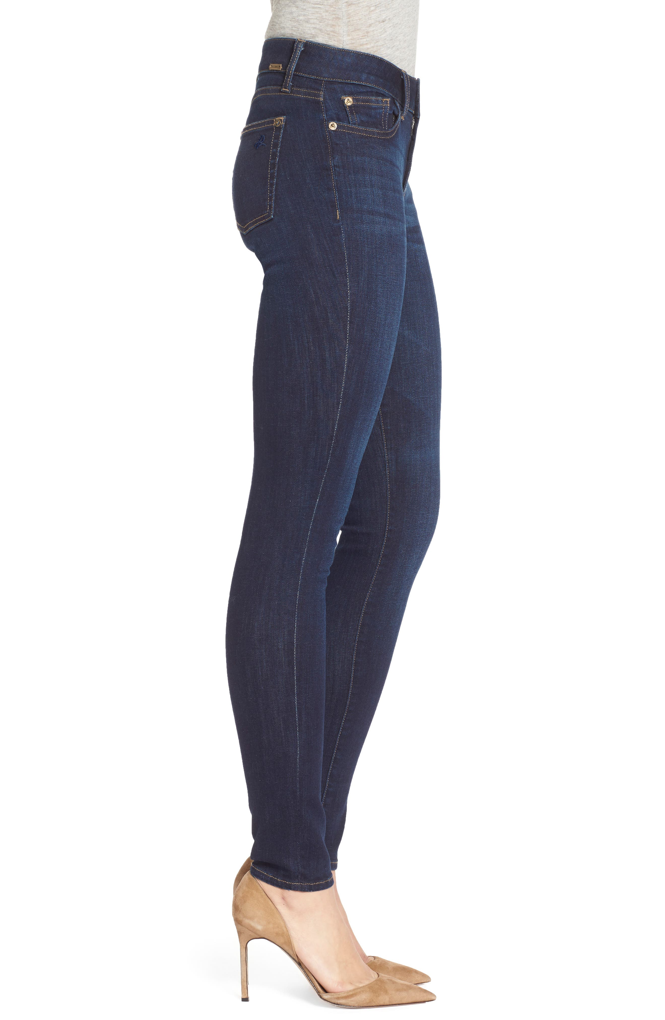 Florence Instasculpt Skinny Jeans,                             Alternate thumbnail 4, color,                             PULSE