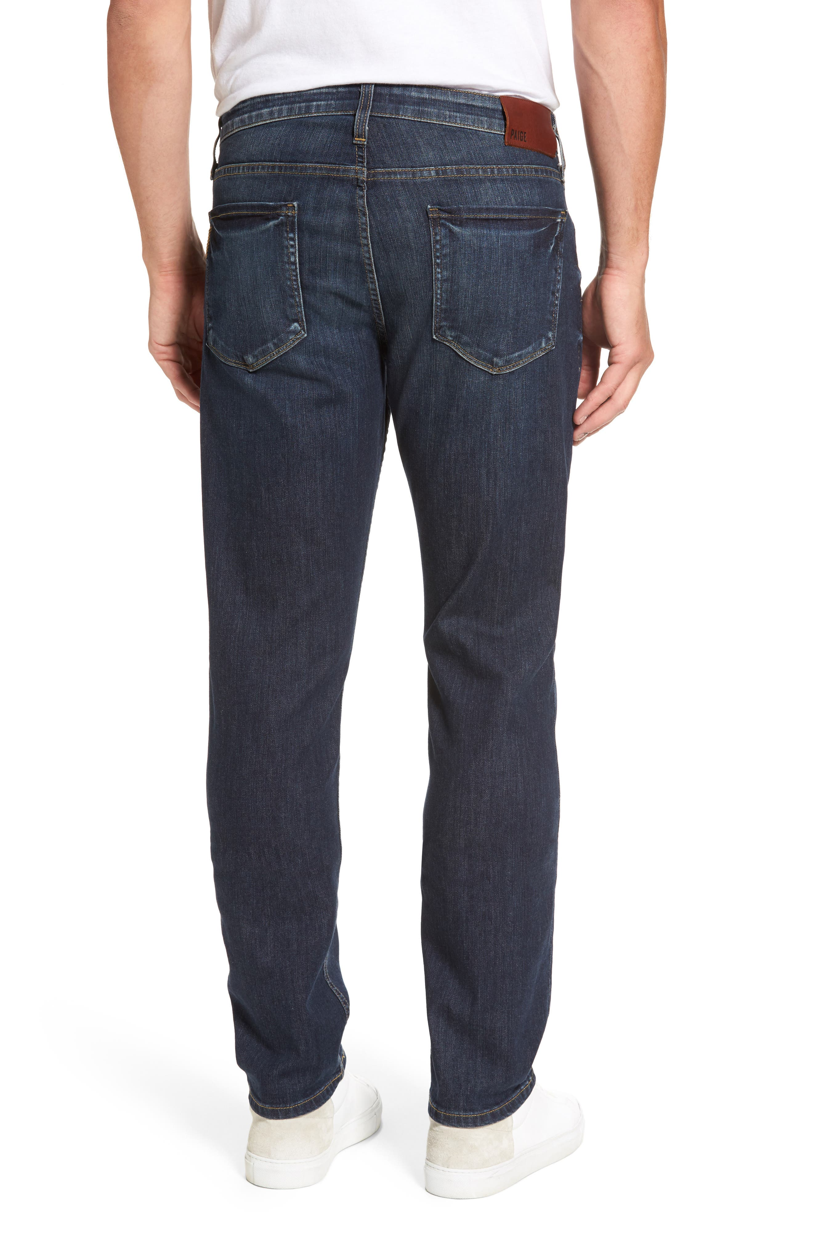 PAIGE,                             Legacy - Federal Slim Straight Leg Jeans,                             Alternate thumbnail 2, color,                             400