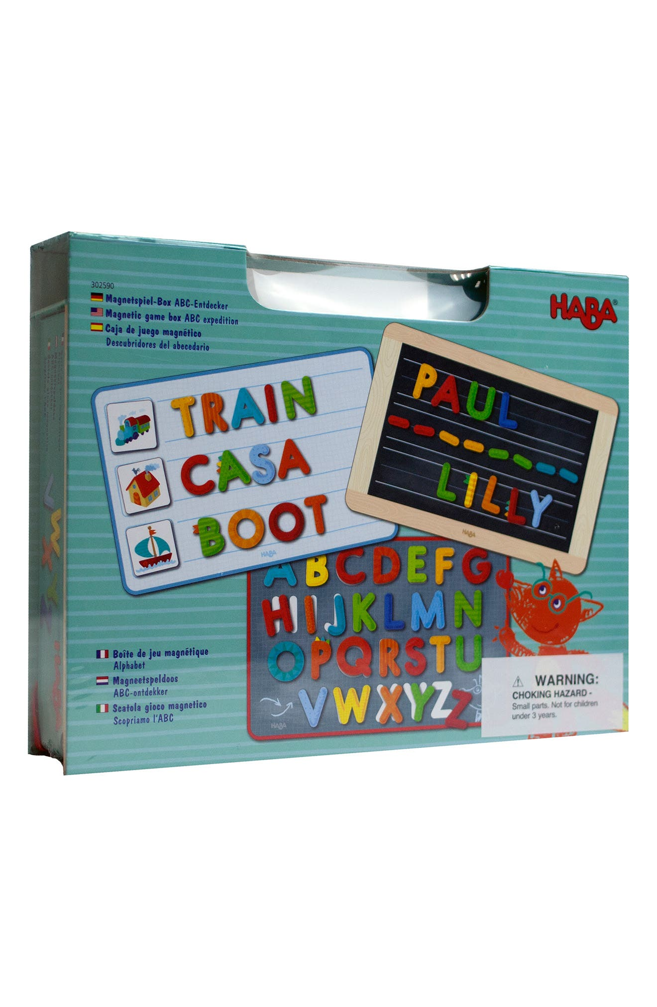 Toddler Haba Abc Expedition Magnetic Game Box