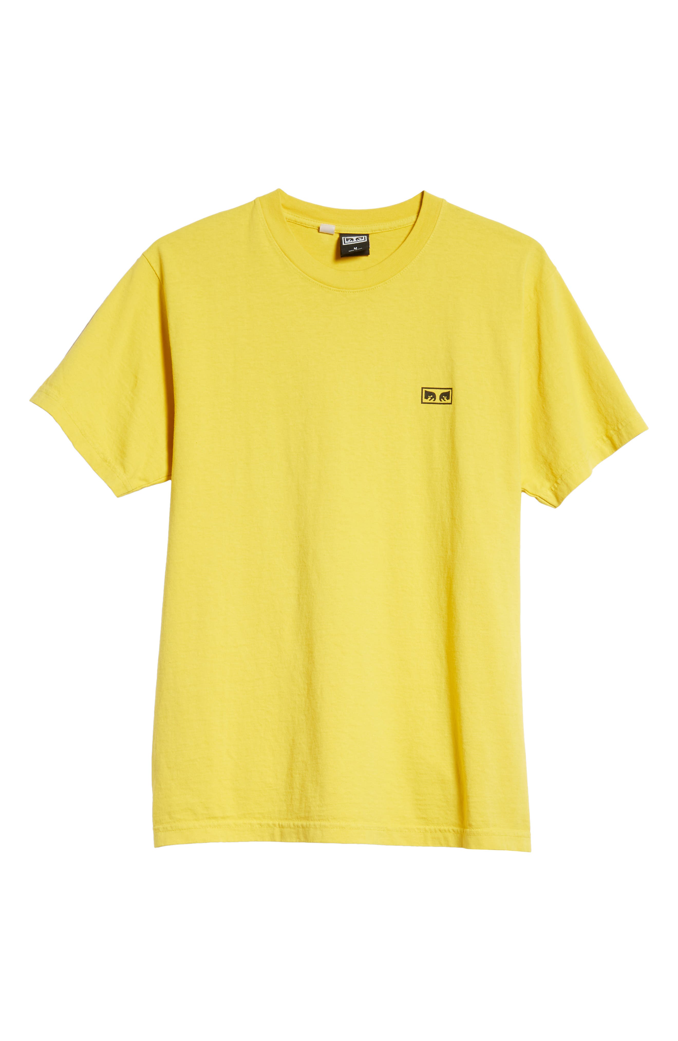No One Box T-Shirt,                             Alternate thumbnail 6, color,                             SPECTRA YELLOW