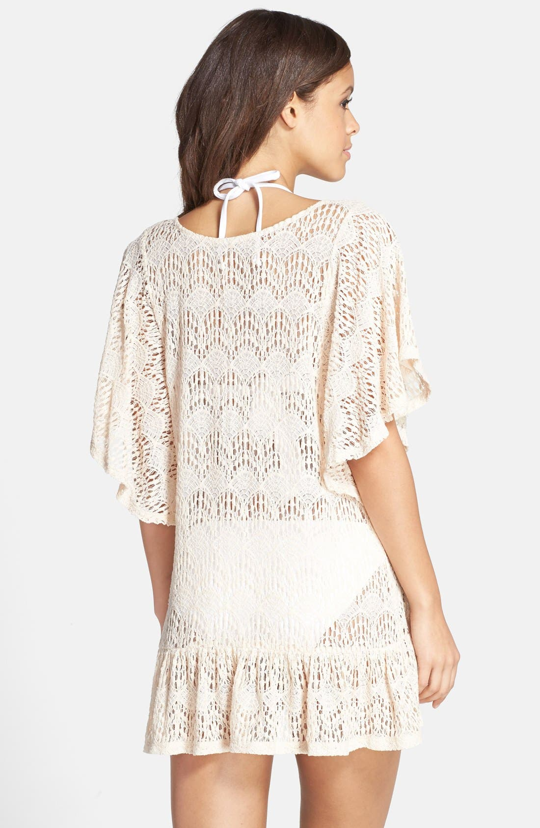 'Free Spirit Malena' Cover-Up Tunic,                             Alternate thumbnail 3, color,                             650