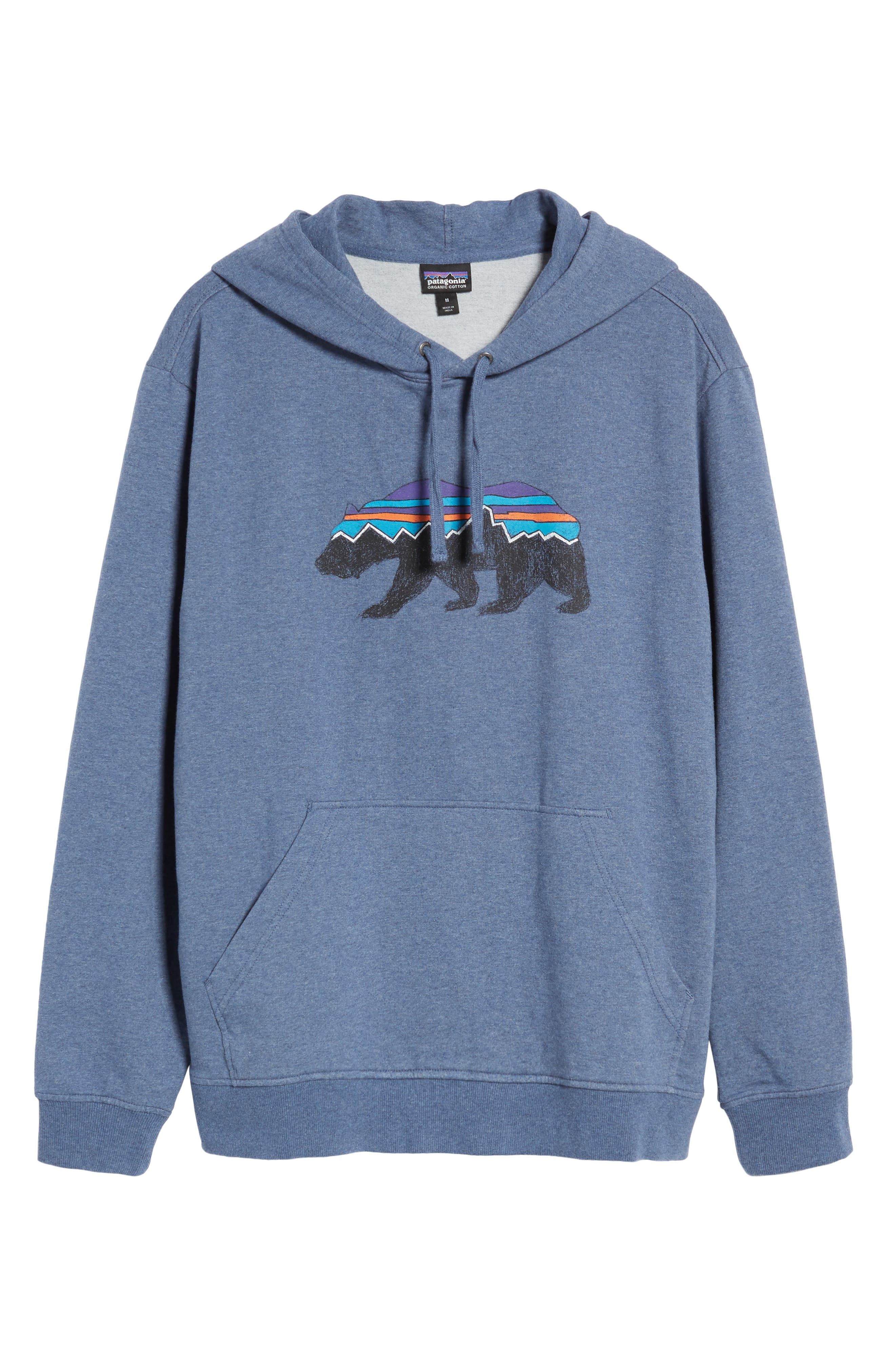 Fitz Roy Bear Graphic Hoodie,                             Alternate thumbnail 24, color,