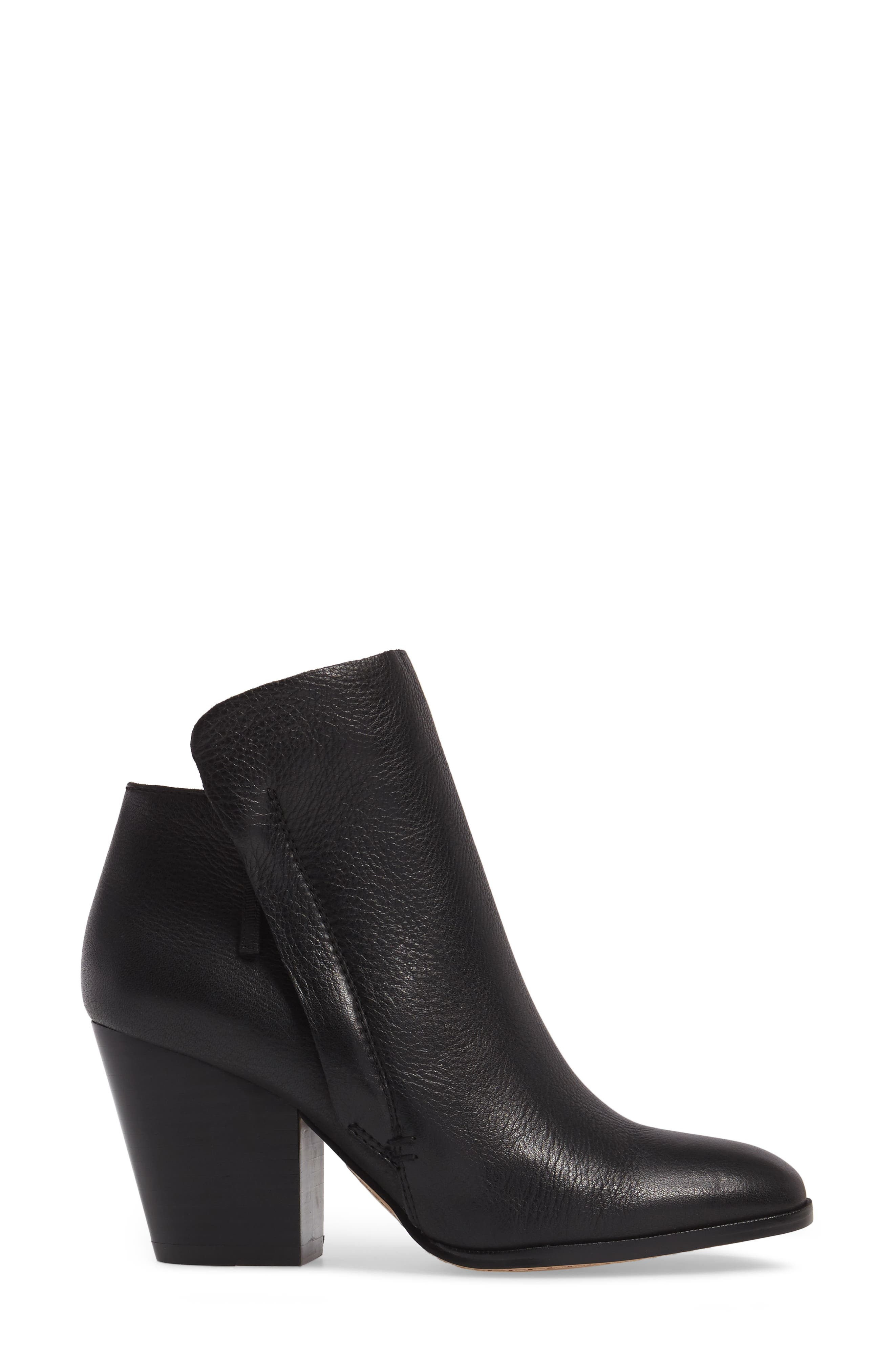 Taila Angle Zip Bootie,                             Alternate thumbnail 5, color,