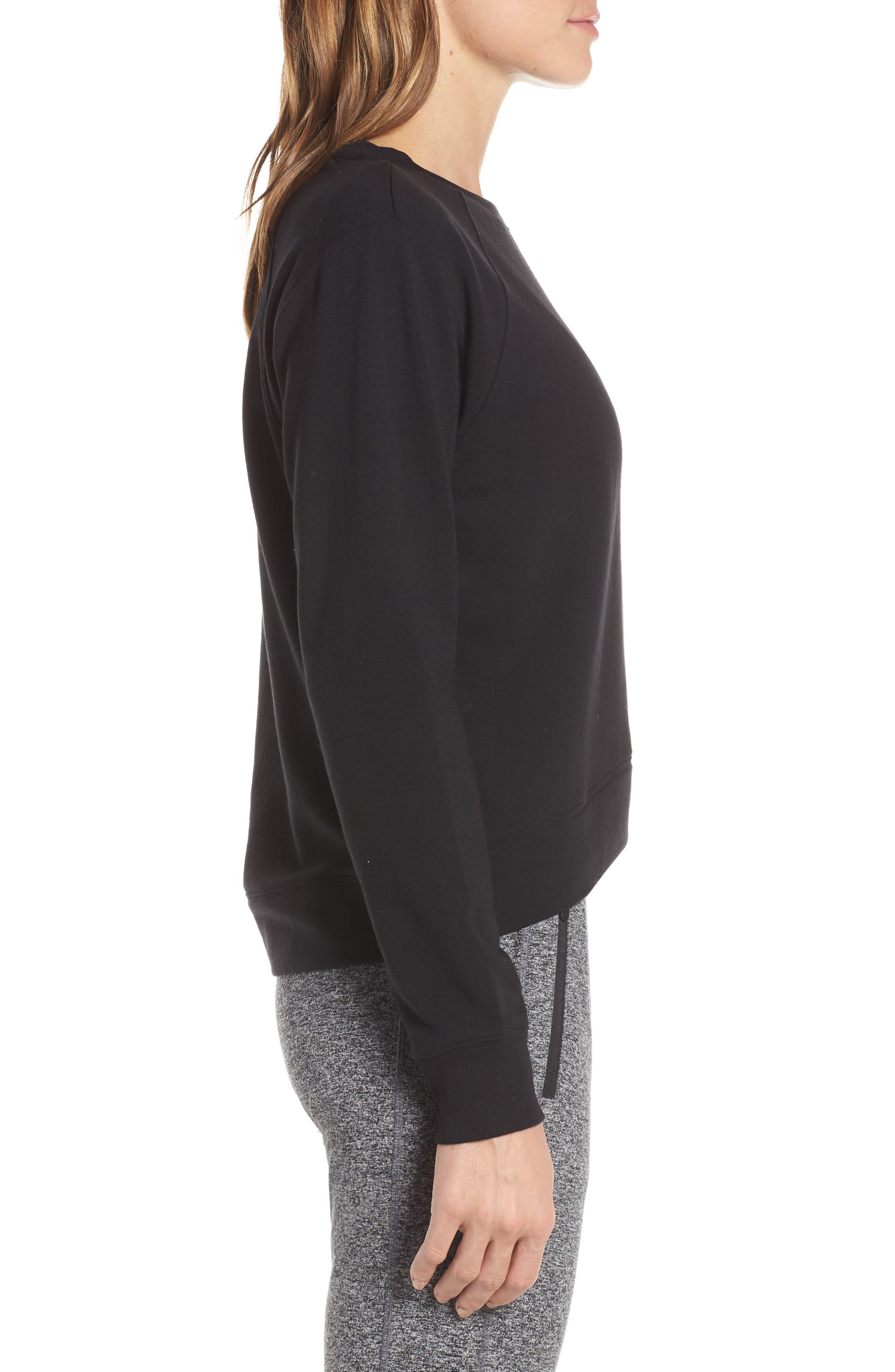 Uplifted Sweatshirt,                             Alternate thumbnail 3, color,                             001