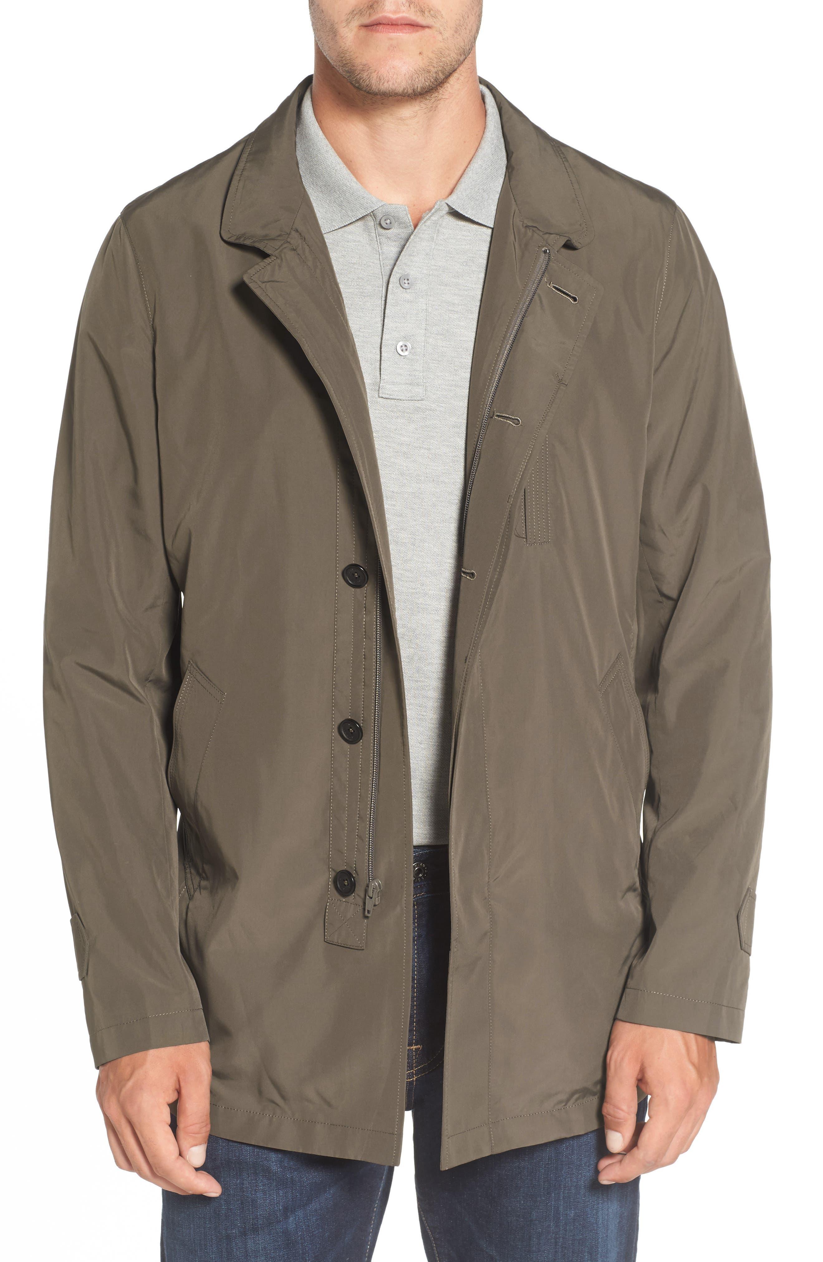 Packable Rain Coat,                         Main,                         color, JAVA