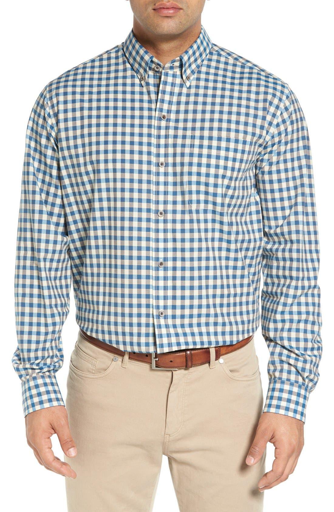 'Wildwood' Regular Fit Check Sport Shirt,                             Main thumbnail 2, color,