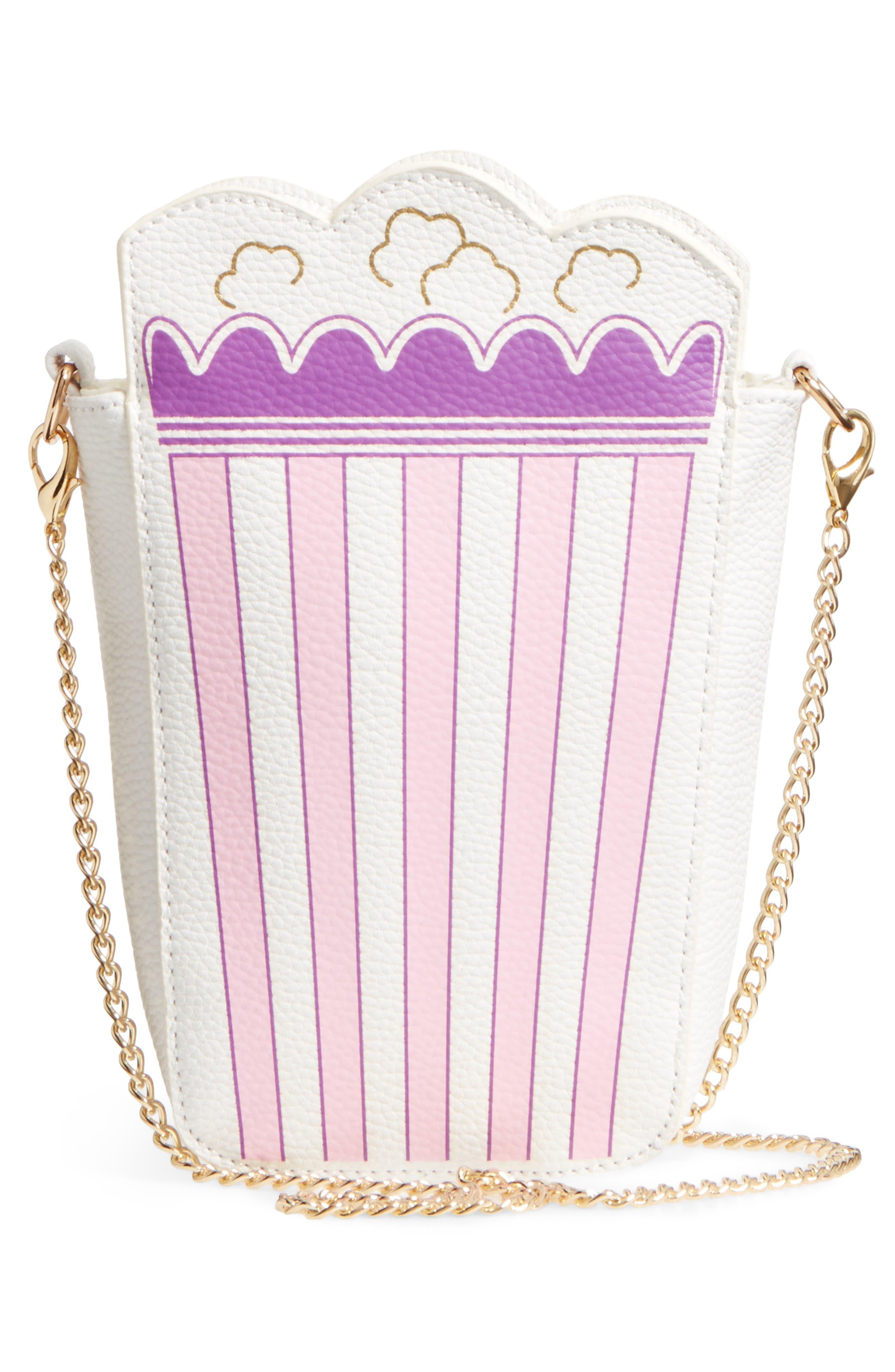 Fresh Popcorn Faux Leather Shoulder Bag,                             Alternate thumbnail 2, color,                             100