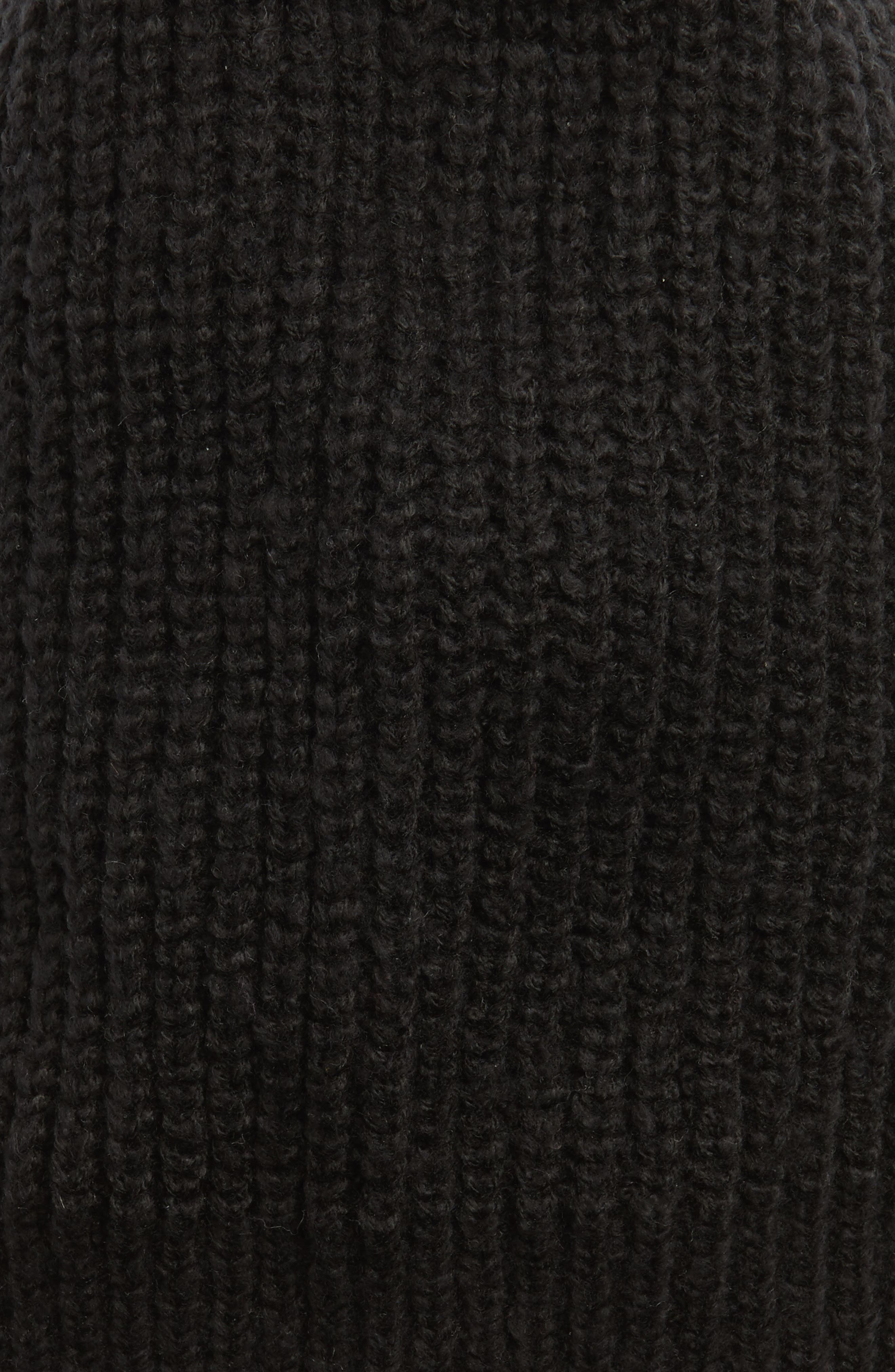 Ribbed Beanie,                             Alternate thumbnail 2, color,                             001