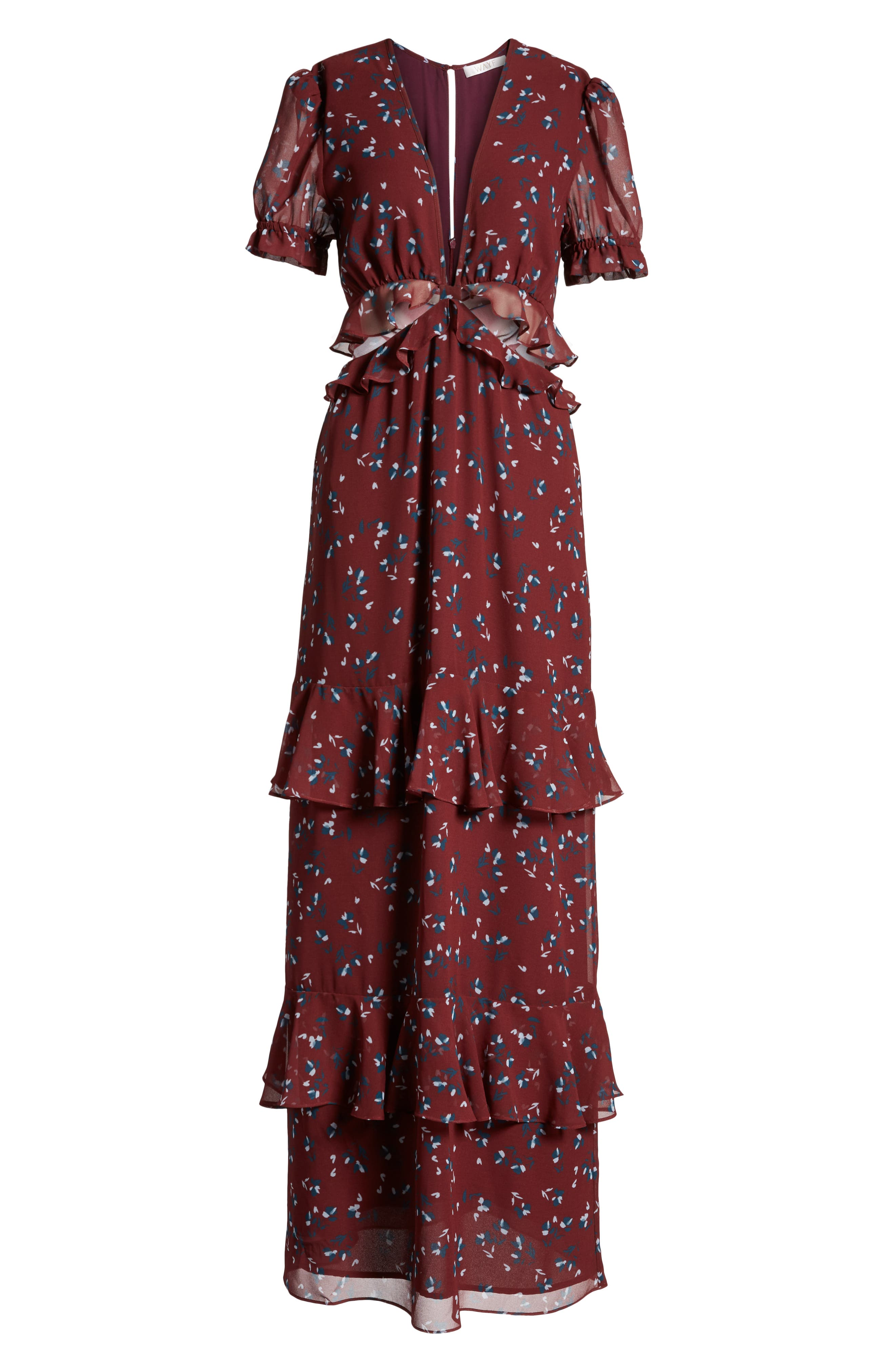Laviana Maxi Dress,                             Alternate thumbnail 7, color,                             930