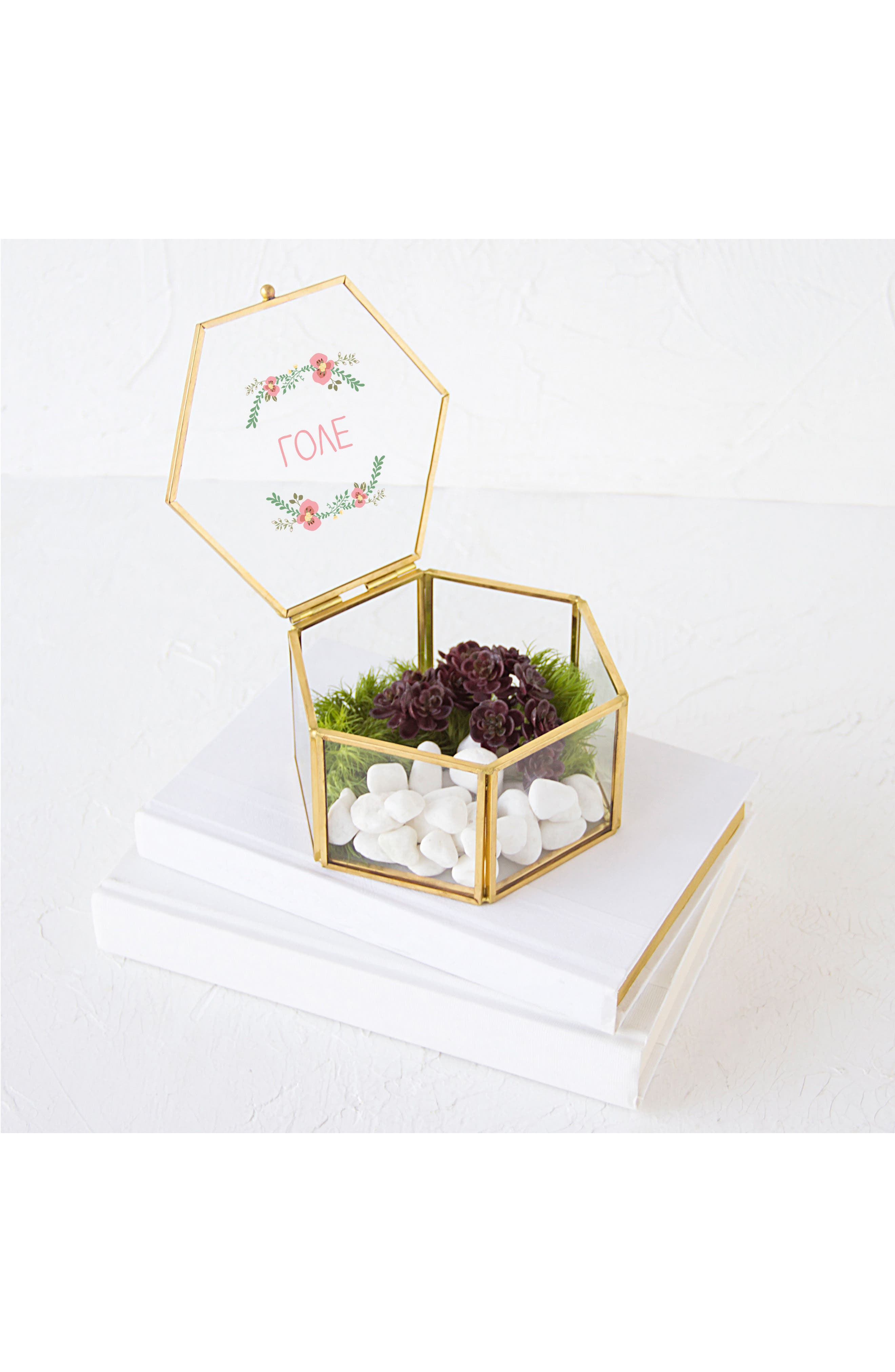 Love Glass Keepsake Box,                             Alternate thumbnail 6, color,                             710
