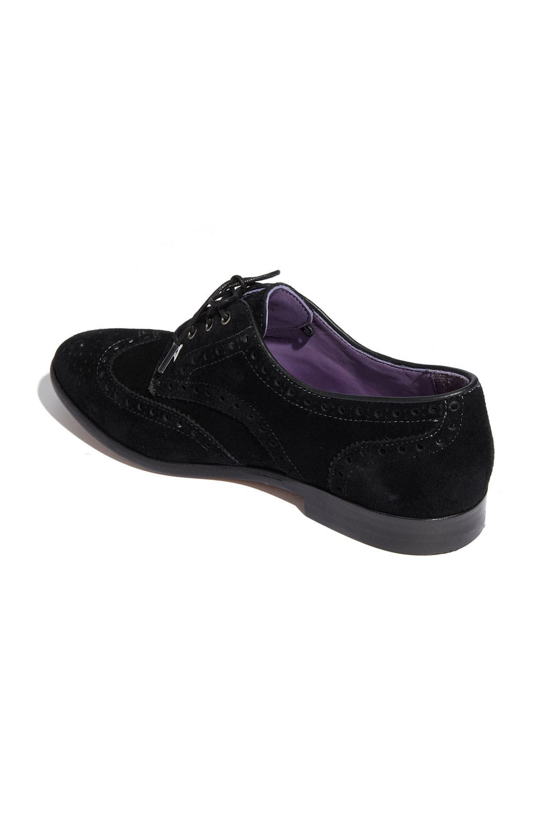 Anna Sui for Hush Puppies<sup>®</sup> 'Lindley' Oxford,                             Alternate thumbnail 3, color,                             001