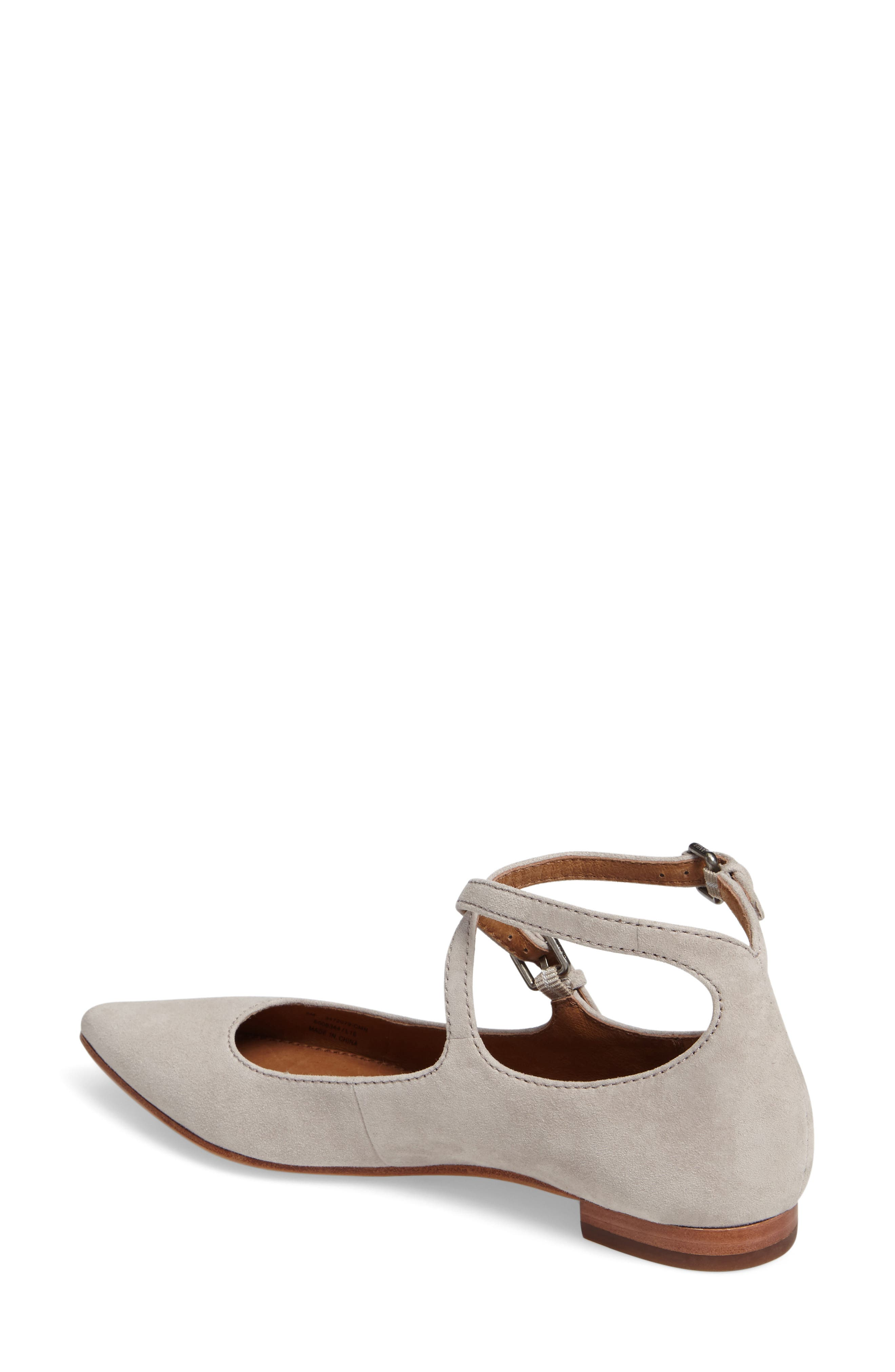 Sienna Cross Ballet Flat,                             Alternate thumbnail 5, color,