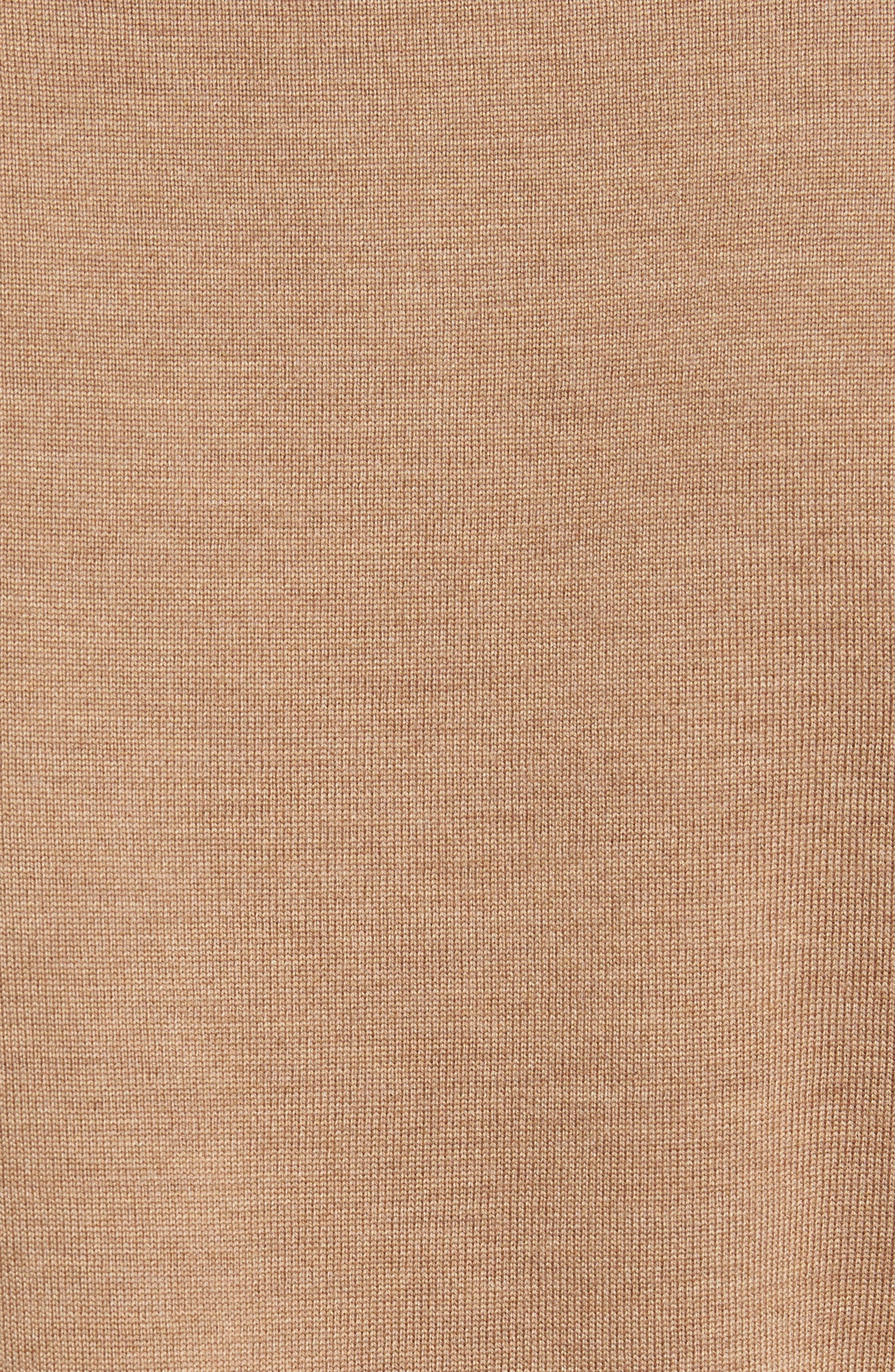 NORDSTROM MEN'S SHOP,                             Merino Wool Polo Sweater,                             Alternate thumbnail 5, color,                             211
