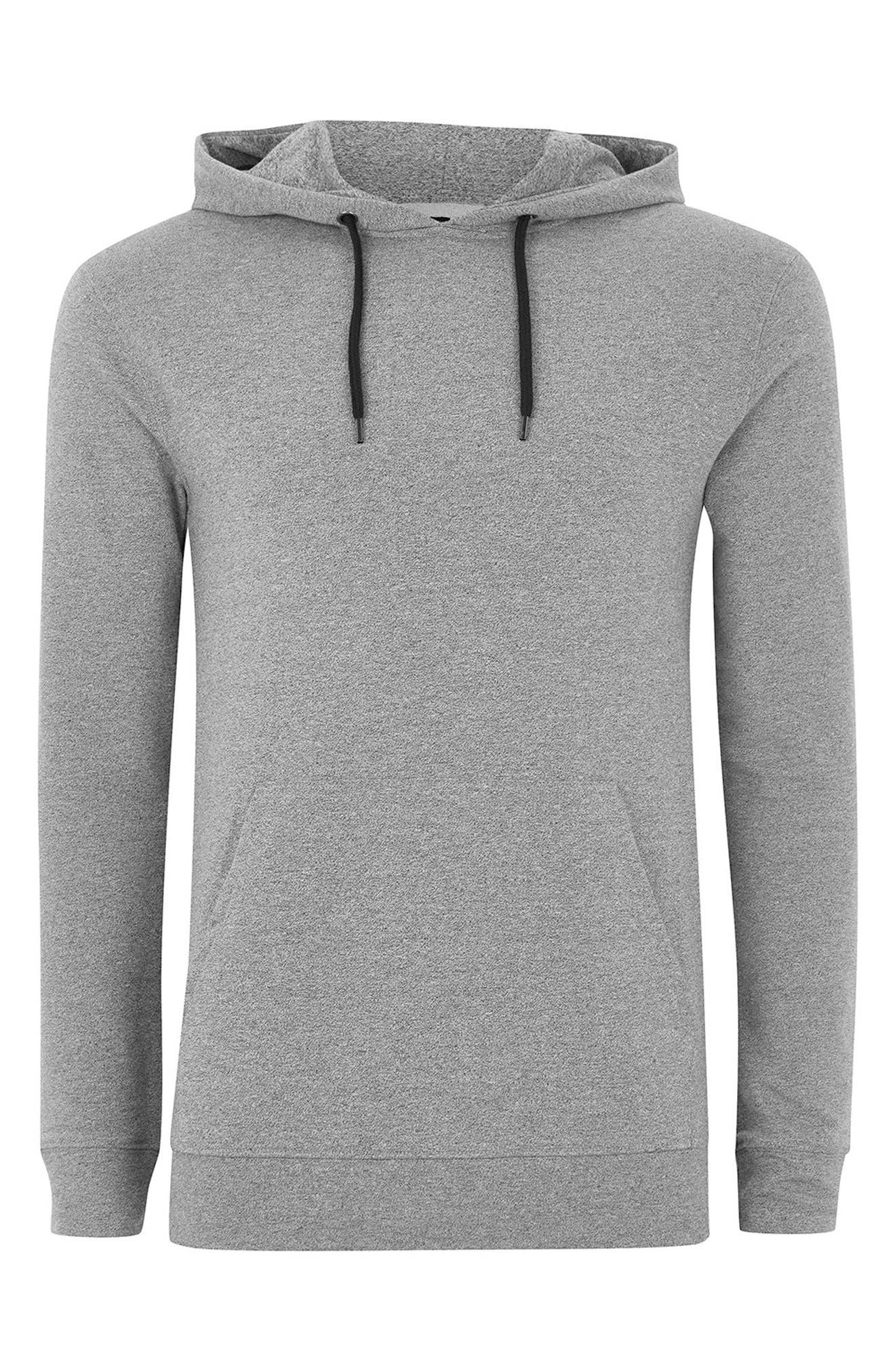 Muscle Fit Hoodie,                             Alternate thumbnail 4, color,                             020