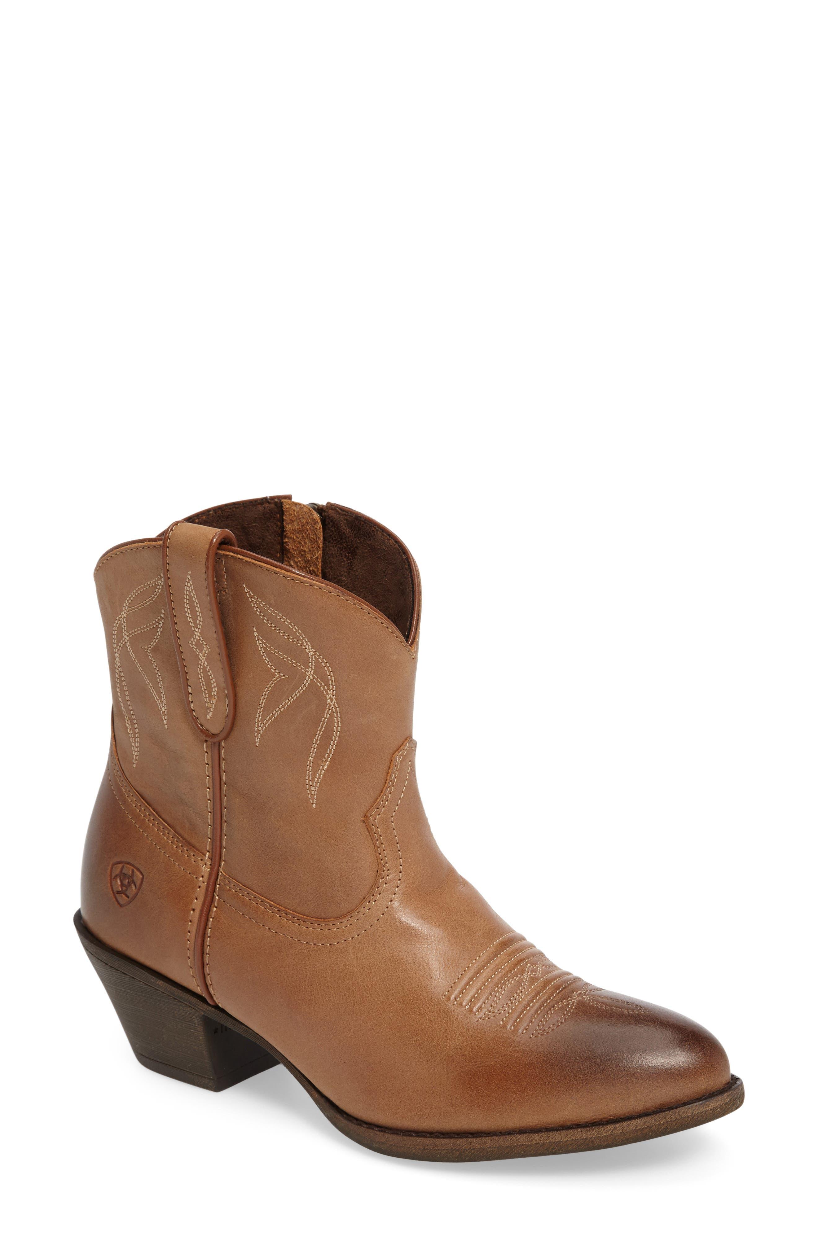 Darlin Short Western Boot,                             Main thumbnail 5, color,