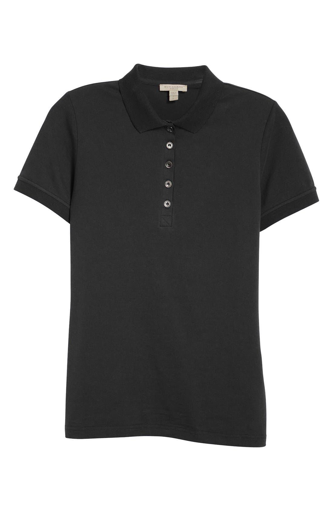 Short Sleeve Polo,                             Alternate thumbnail 2, color,                             001