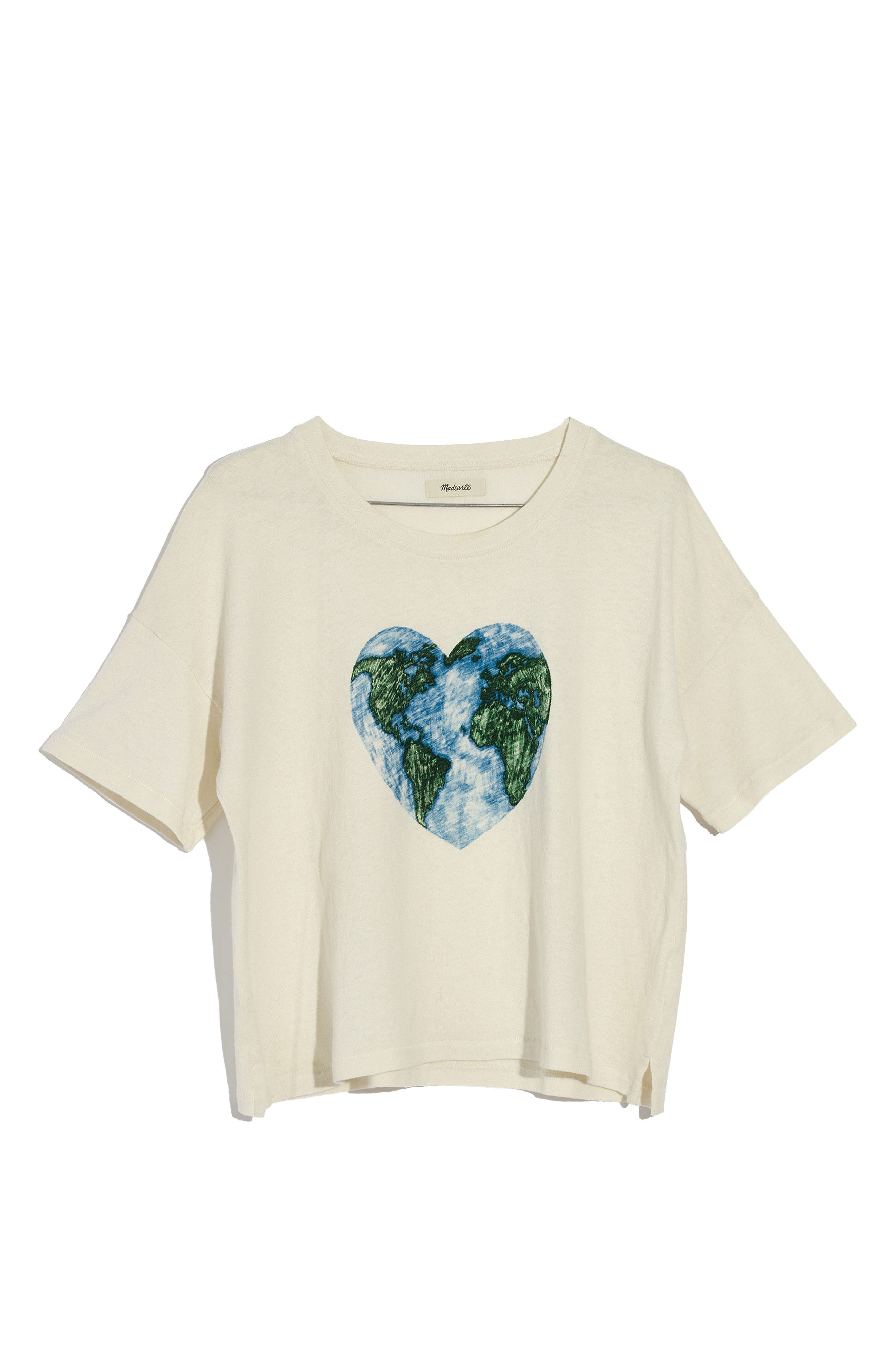 x Surfrider Foundation Mother Earth Tee,                             Alternate thumbnail 3, color,                             100