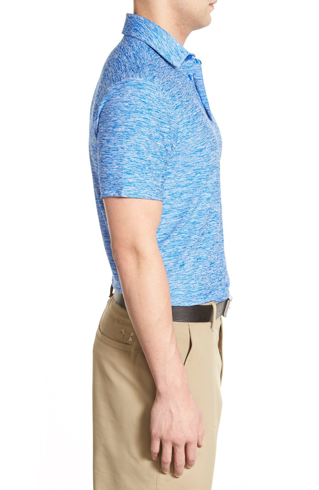 'Playoff' Loose Fit Short Sleeve Polo,                             Alternate thumbnail 144, color,