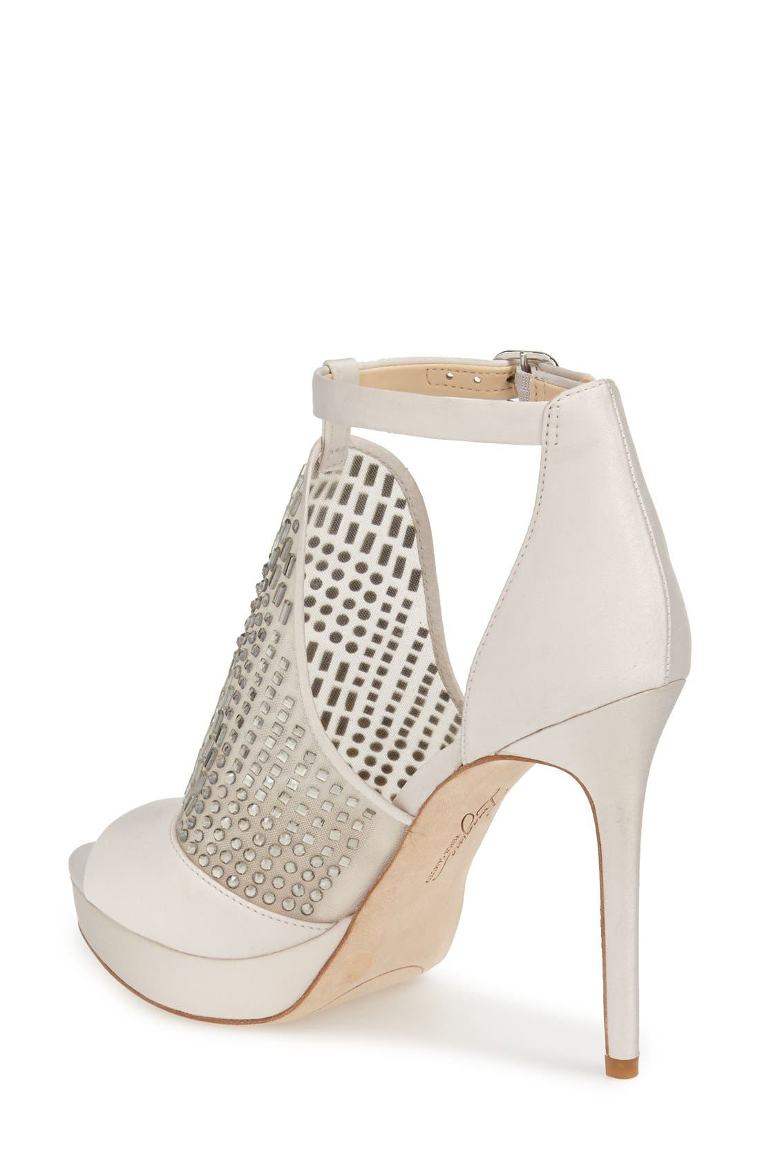 'Keir' T-Strap Platform Sandal,                             Alternate thumbnail 3, color,                             050