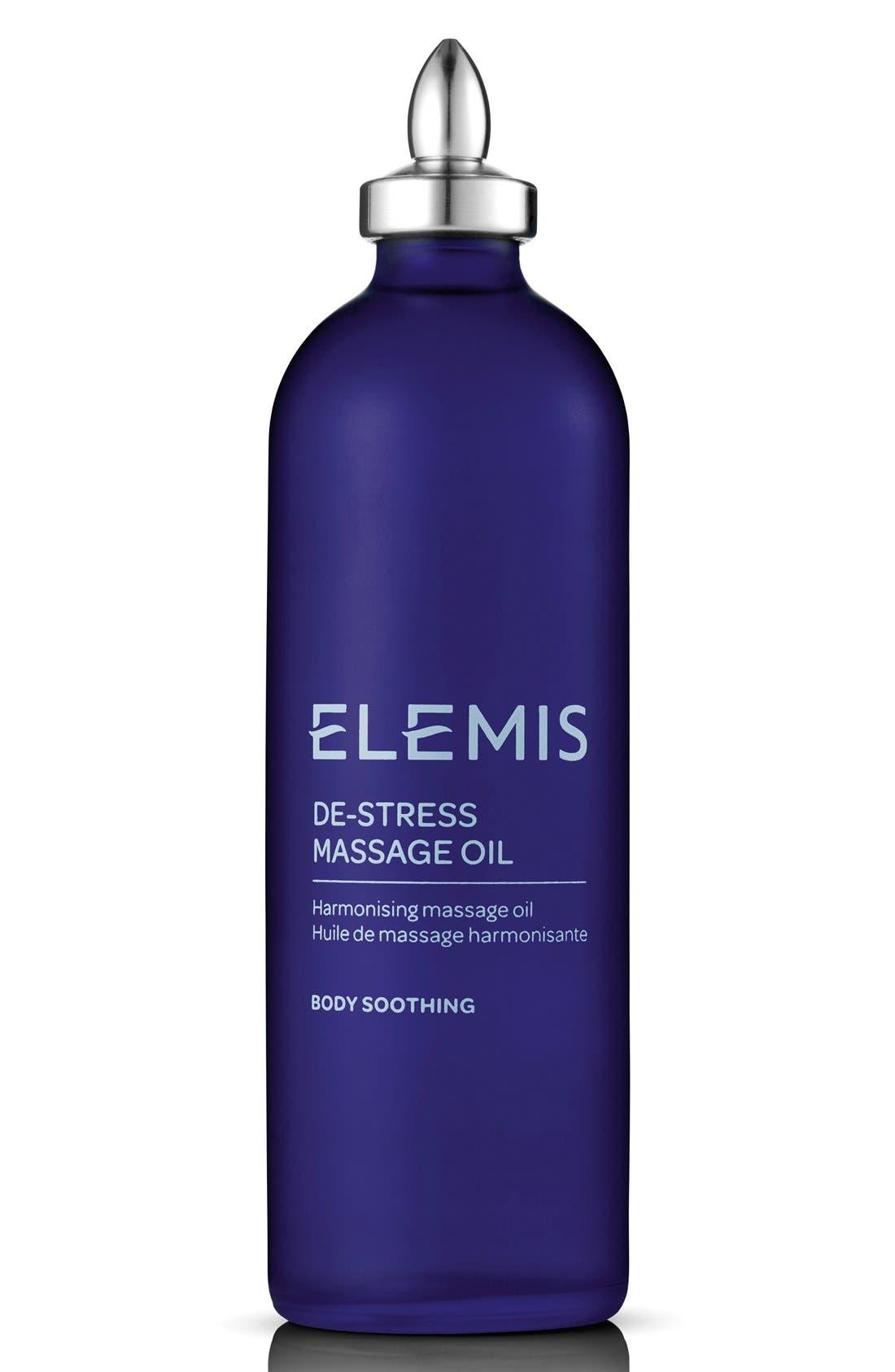 De-Stress Massage Oil,                         Main,                         color, NO COLOR
