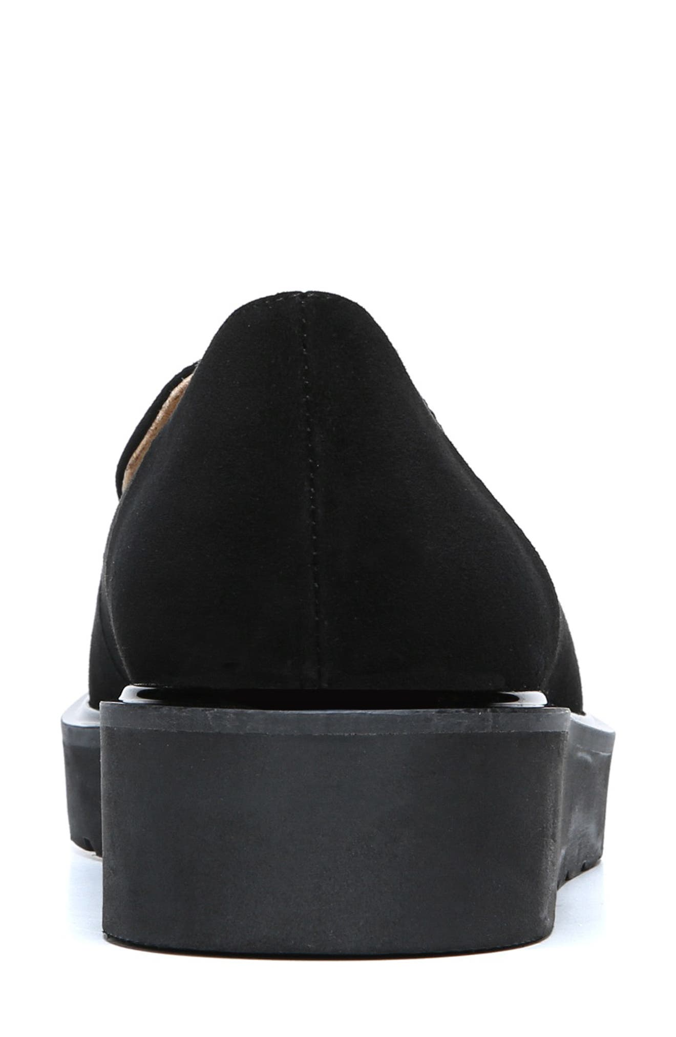 Andie Loafer,                             Alternate thumbnail 7, color,                             BLACK SUEDE
