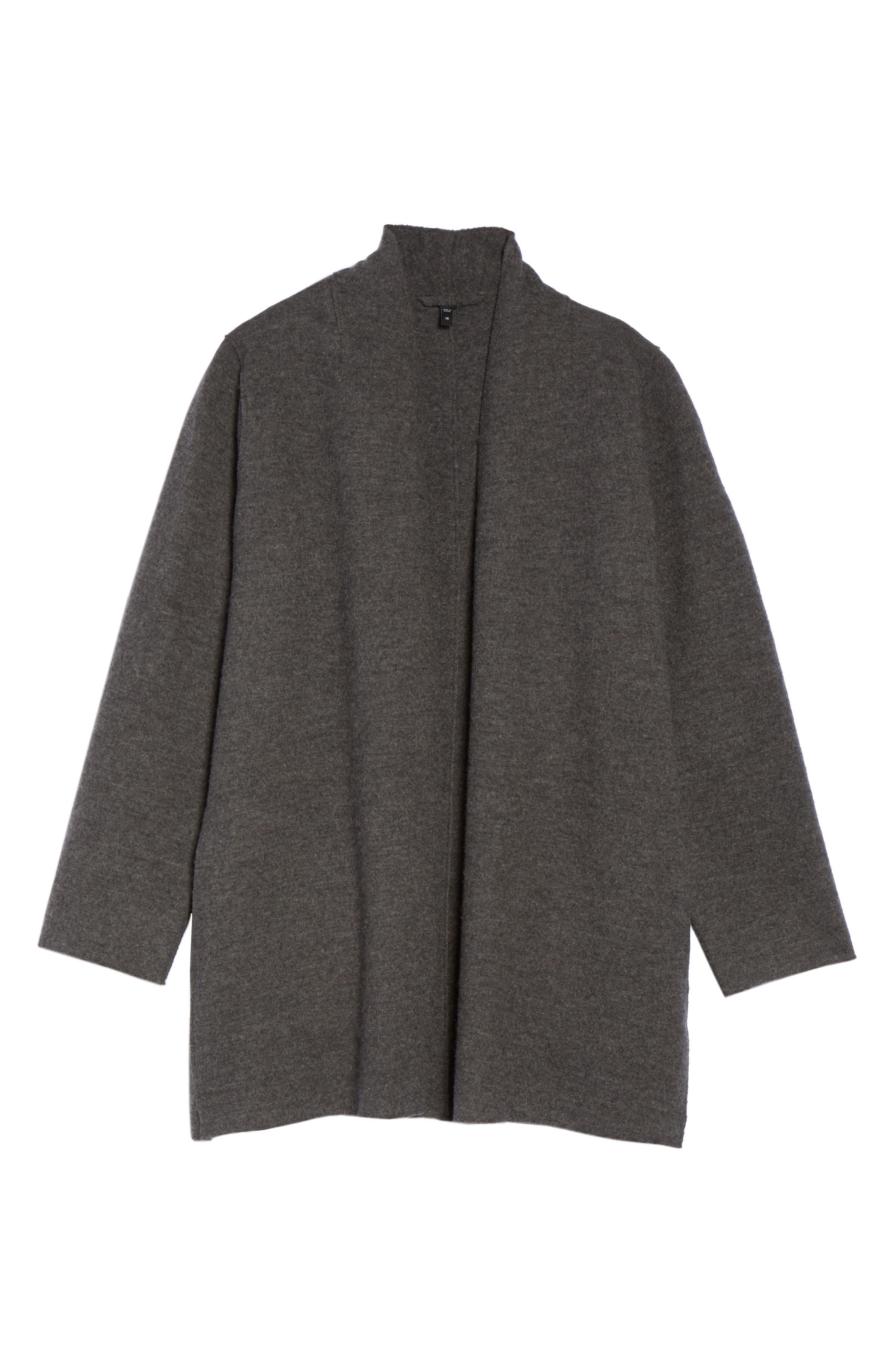 Boiled Wool Jacket,                             Alternate thumbnail 11, color,