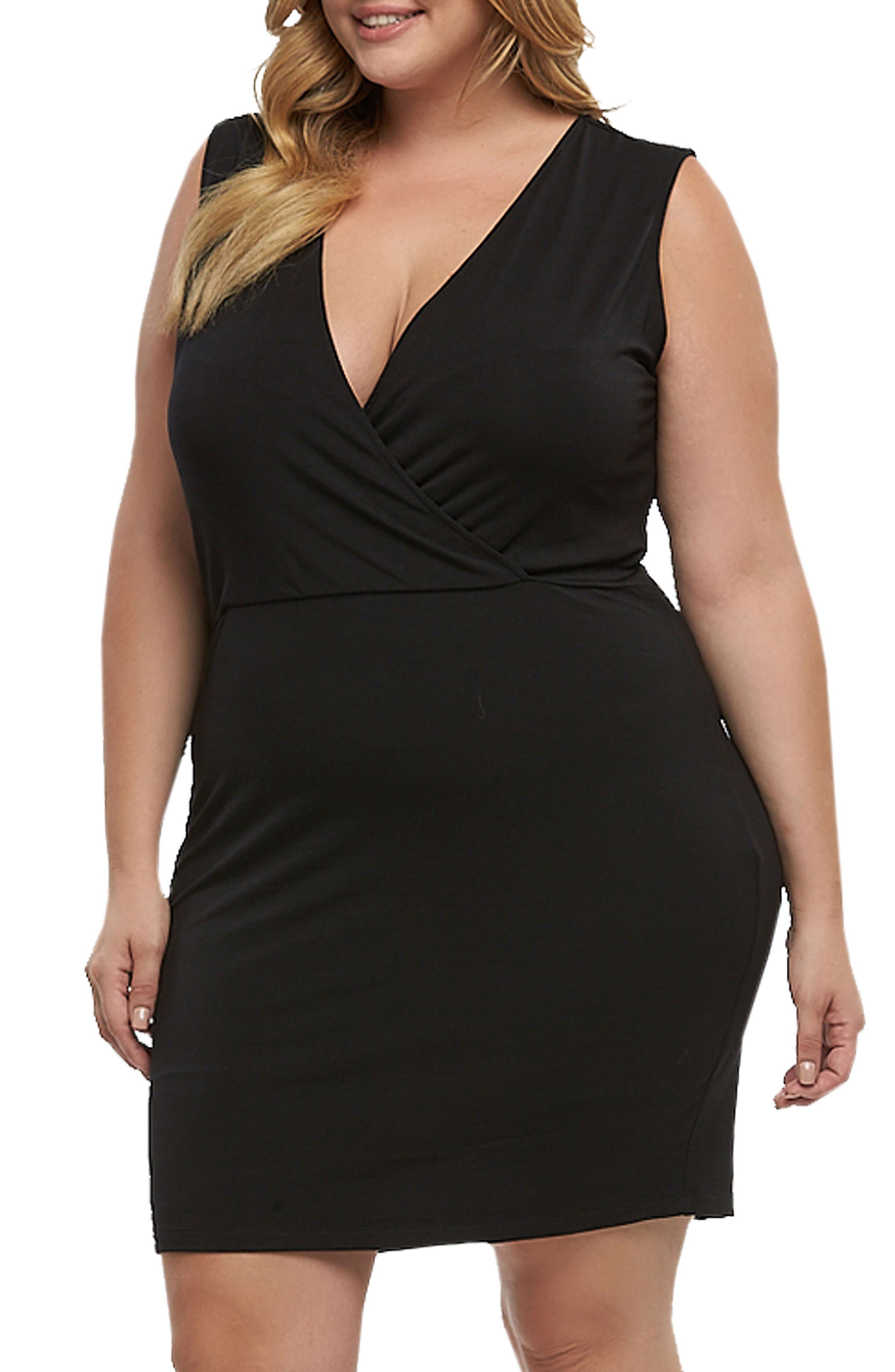 Sonia Ruched Dress,                             Alternate thumbnail 3, color,                             001