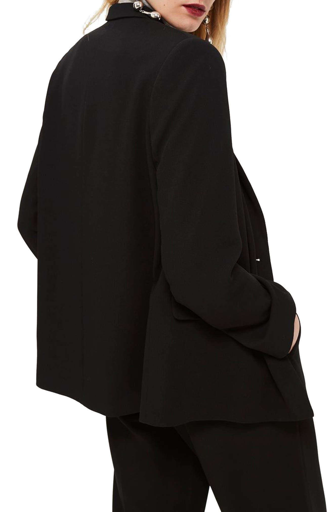 Slouch Suit Blazer,                             Alternate thumbnail 2, color,                             001