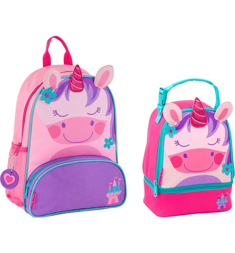 6f27f99577 Stephen Joseph Unicorn Sidekick Backpack   Lunch Pal (Kids)