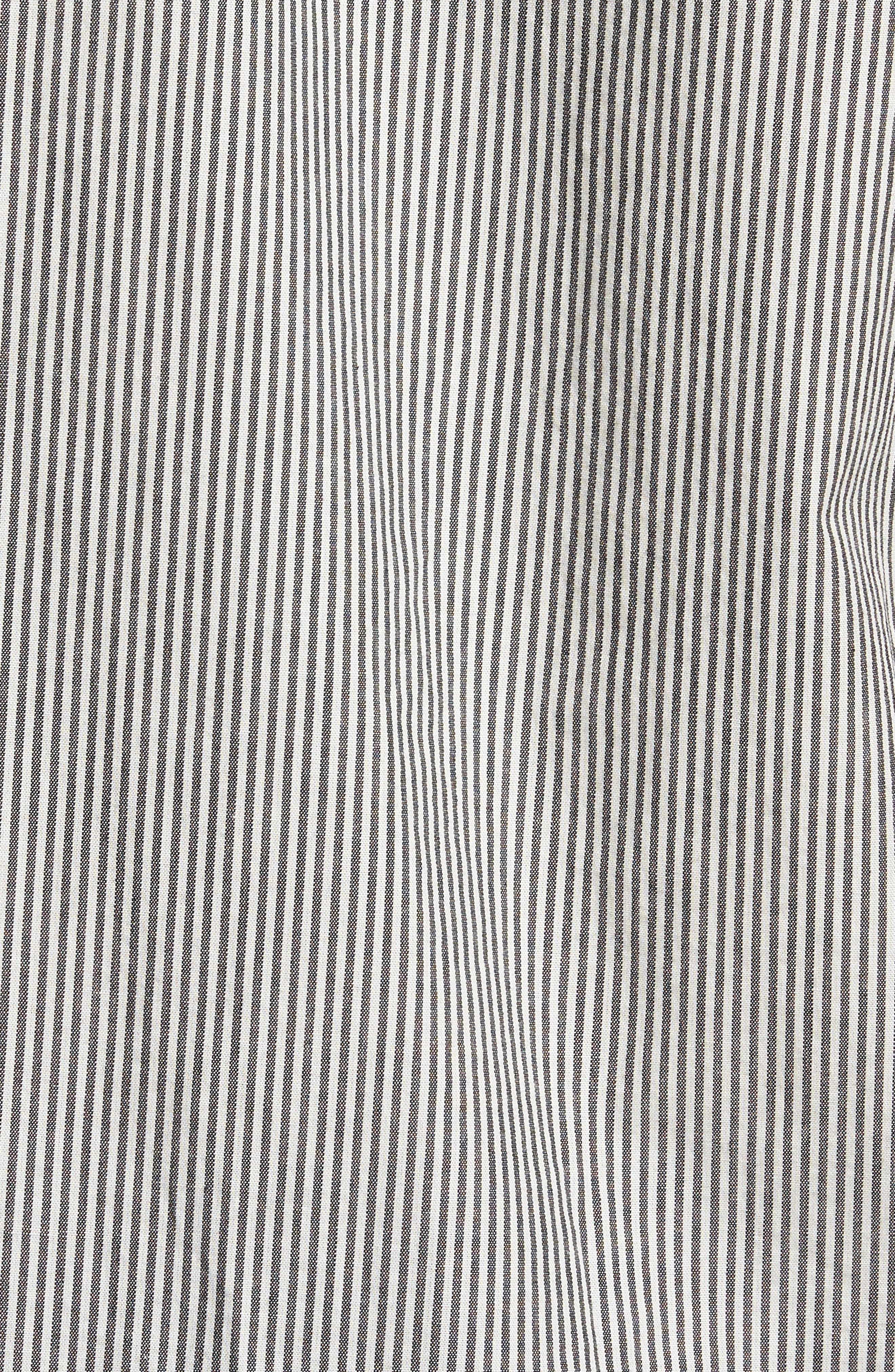 resort Disruption Woven Shirt,                             Alternate thumbnail 5, color,                             001