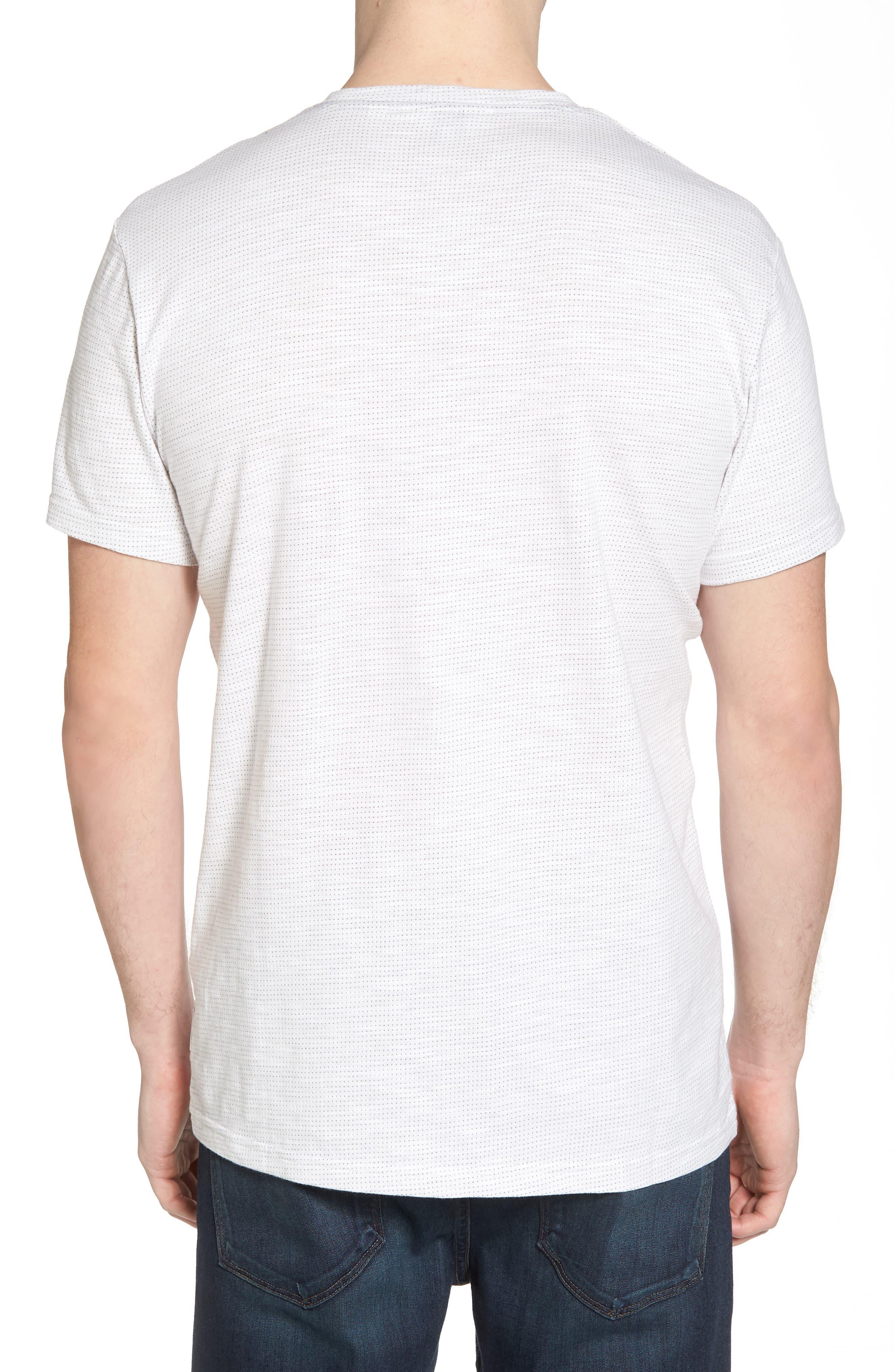 Slub Jacquard T-Shirt,                             Alternate thumbnail 2, color,                             111