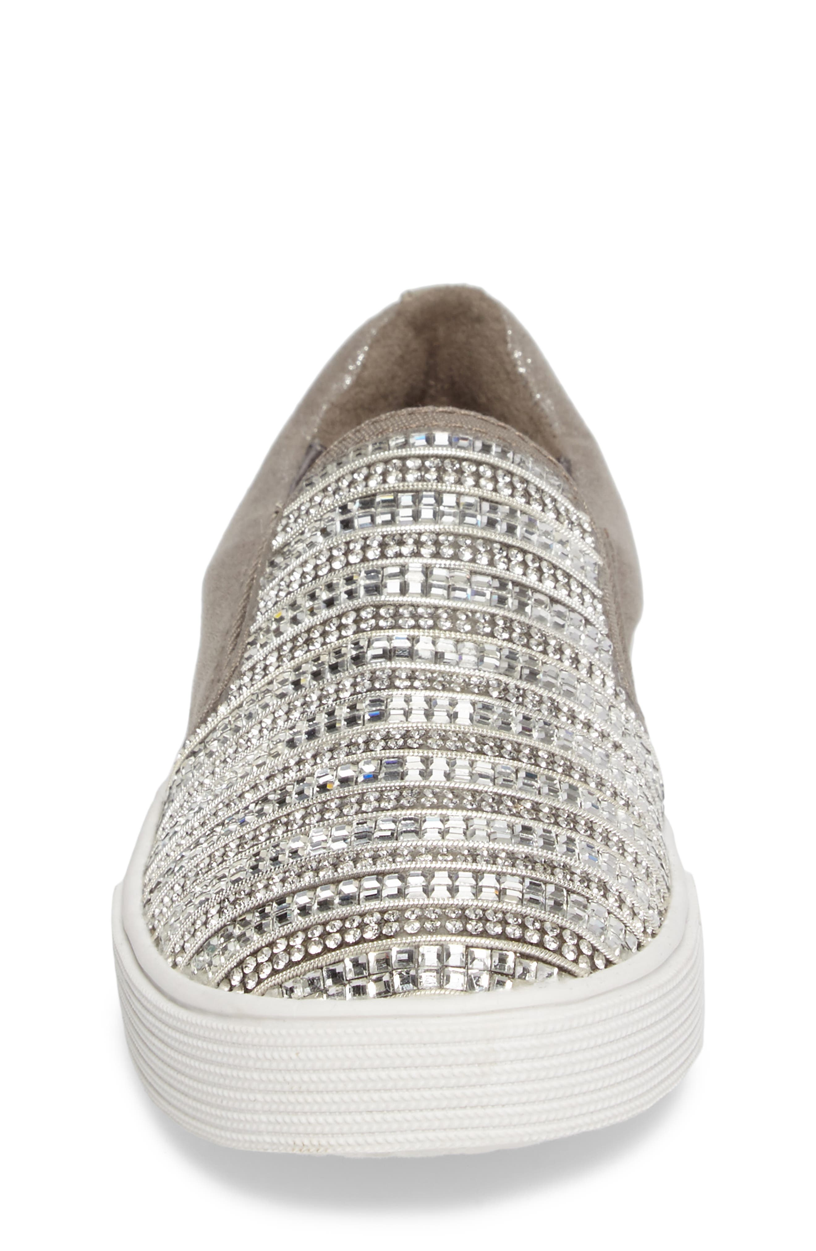 Vance Glitz Slip-On Sneaker,                             Alternate thumbnail 11, color,
