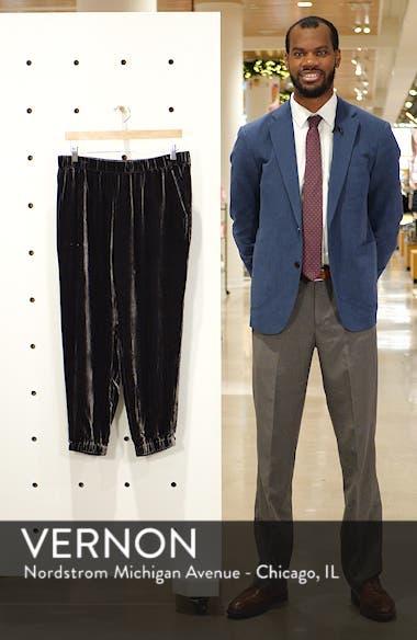 Velvet Jogger Pants, sales video thumbnail