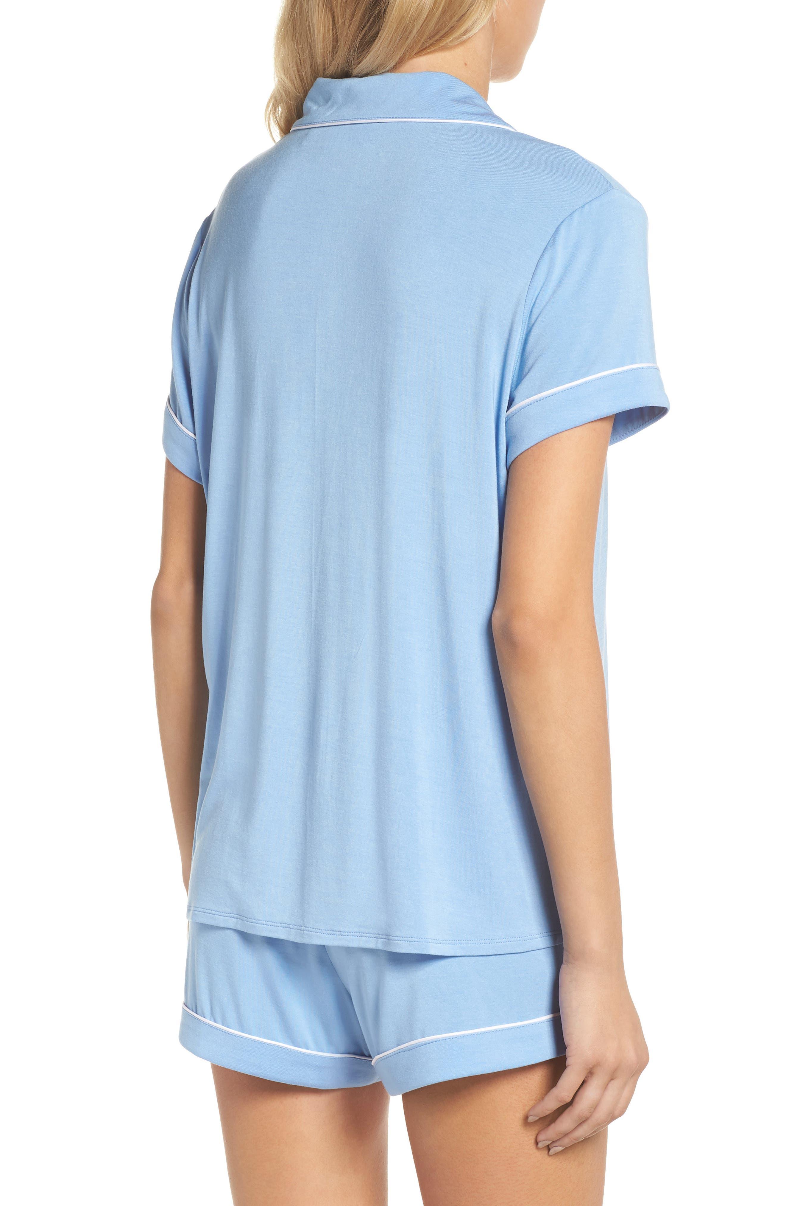Moonlight Shortie Pajamas,                             Alternate thumbnail 2, color,                             421