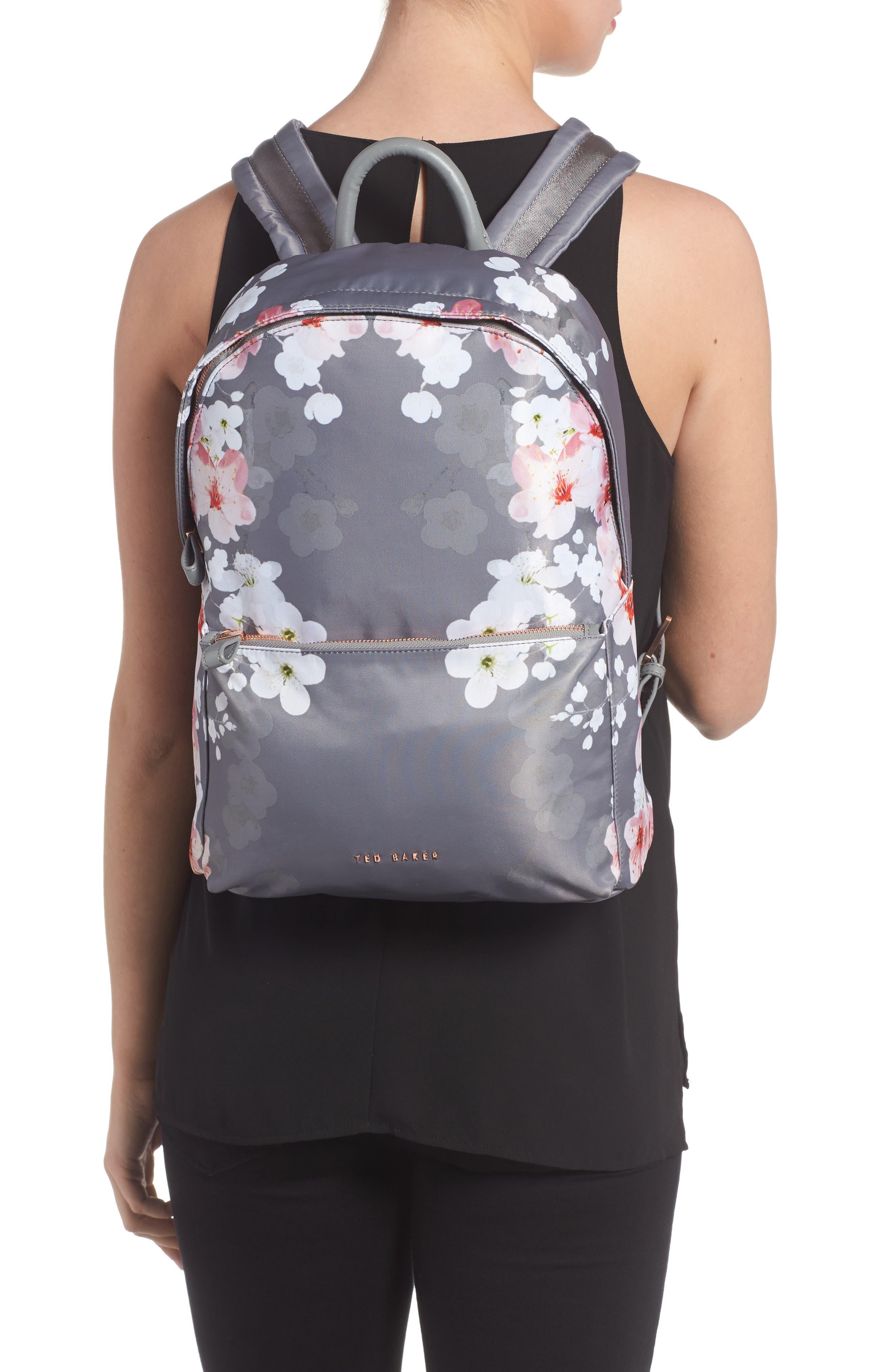 Olica Oriental Blossom Backpack,                             Alternate thumbnail 2, color,                             050