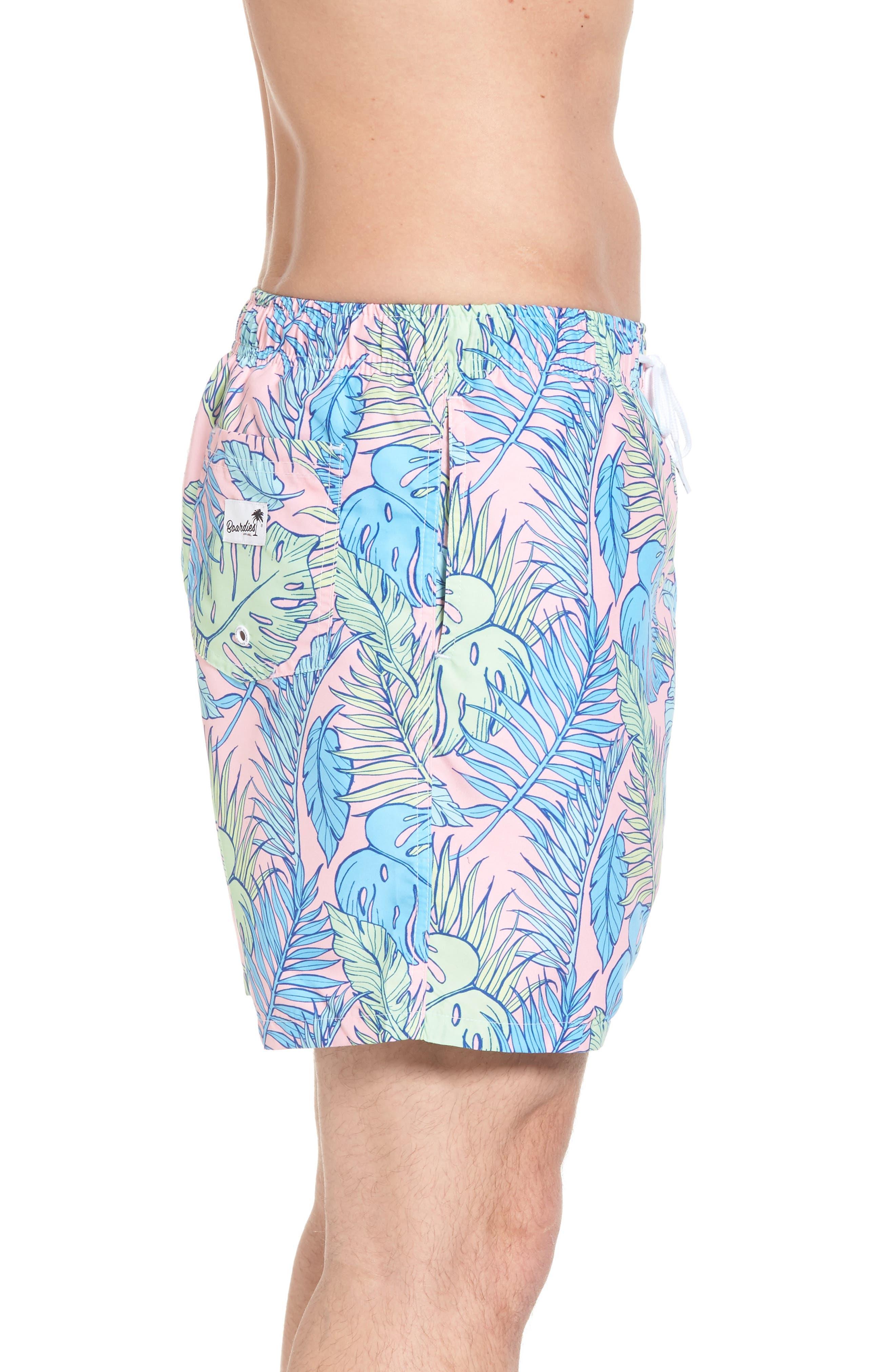Palmtopia Swim Shorts,                             Alternate thumbnail 3, color,                             MULTI
