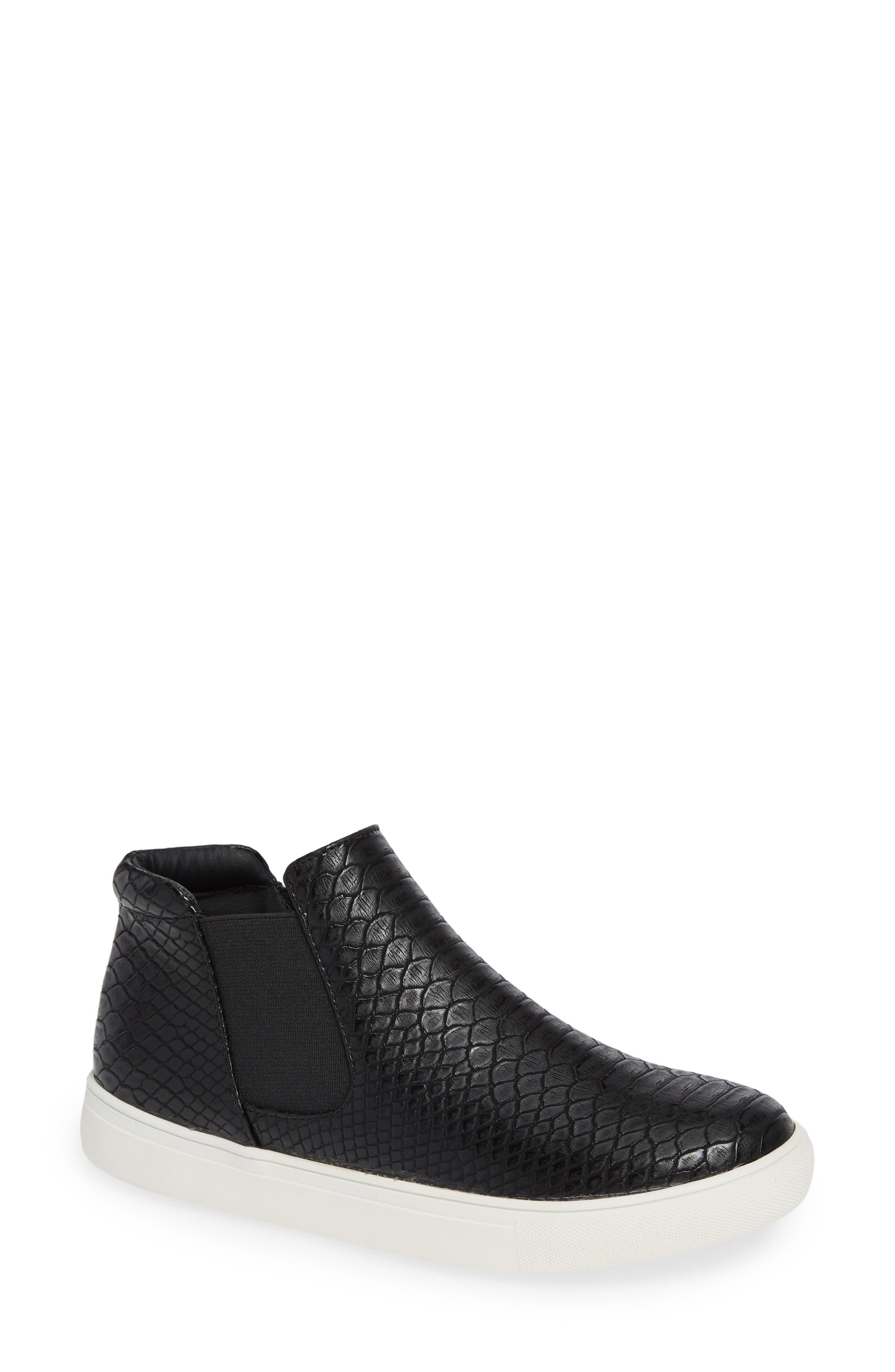 Harlan Slip-On Sneaker,                             Main thumbnail 1, color,                             BLACK SNAKE PRINT