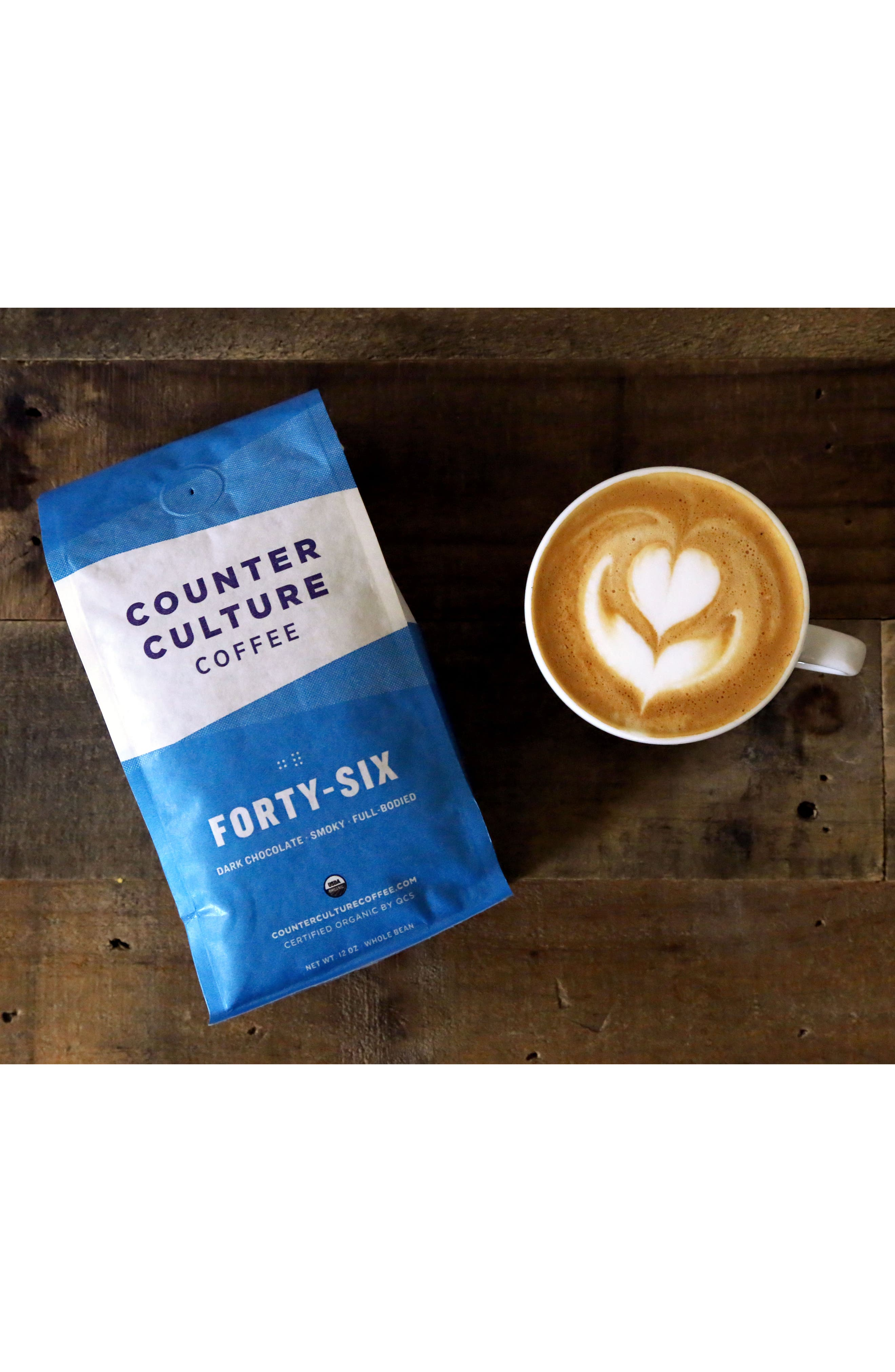 Forty Six Whole Bean Coffee Blend,                             Alternate thumbnail 4, color,                             960