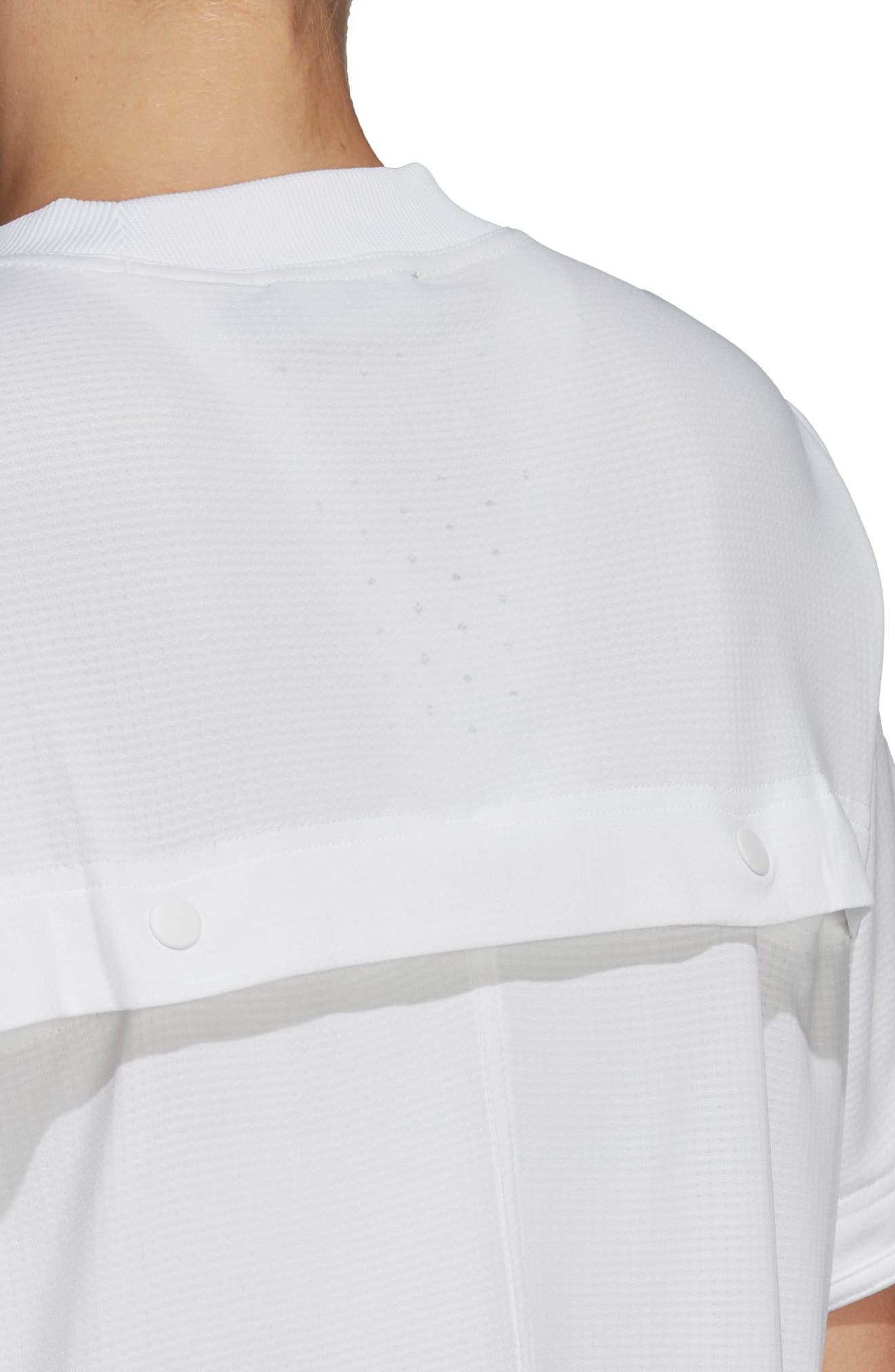 Train CLIMACHILL<sup>™</sup> Tee,                             Alternate thumbnail 4, color,                             WHITE