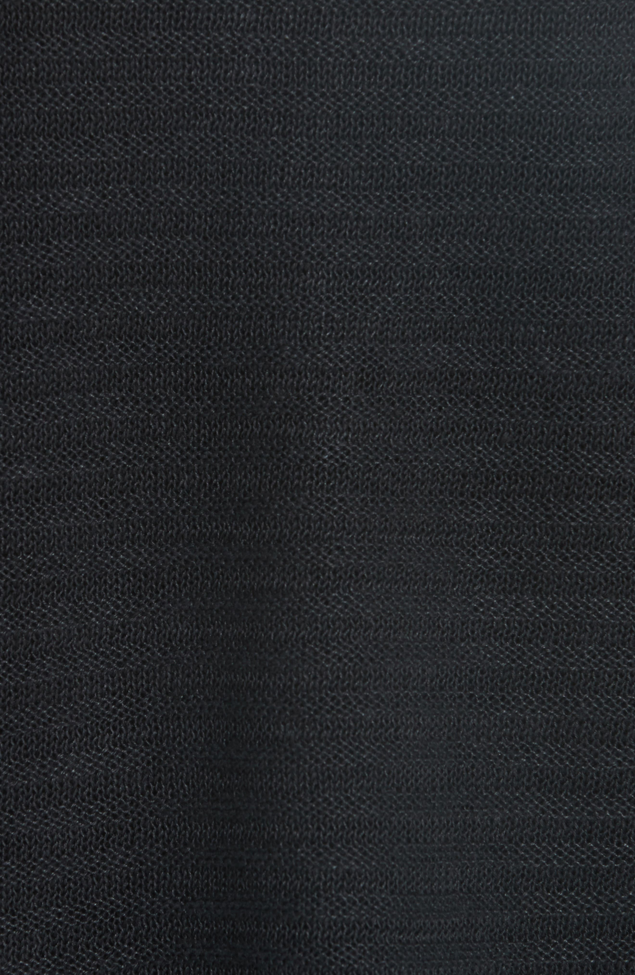 Slit Sleeve Organic Linen Sweater,                             Alternate thumbnail 5, color,                             001