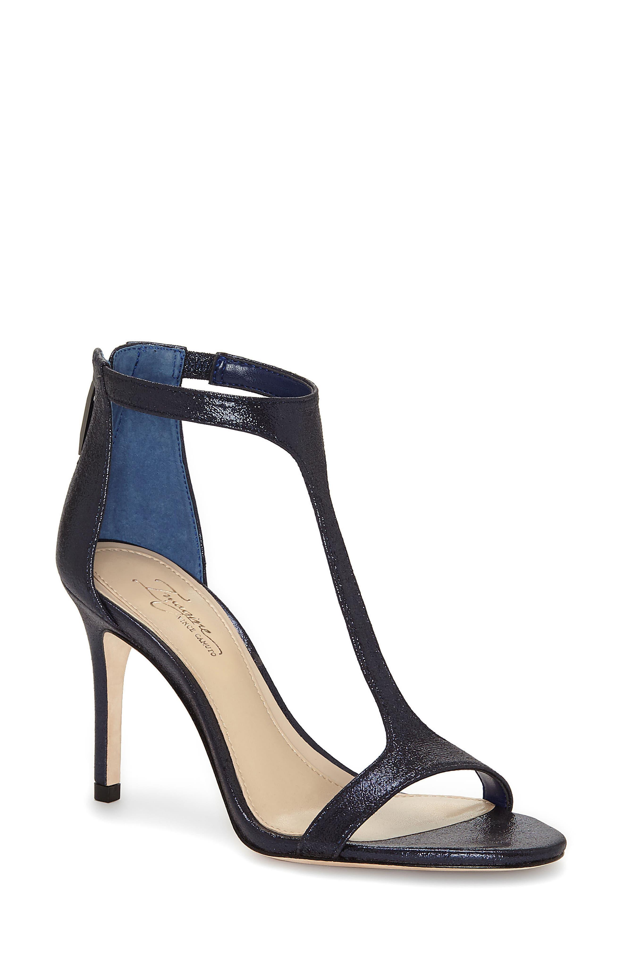 'Phoebe' Embellished T-Strap Sandal,                             Main thumbnail 2, color,