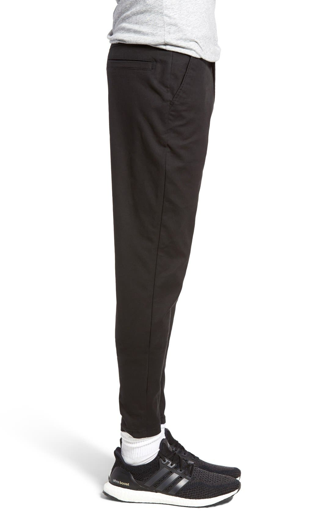'Sharpshot' Slouchy Skinny Fit Chinos,                             Alternate thumbnail 21, color,