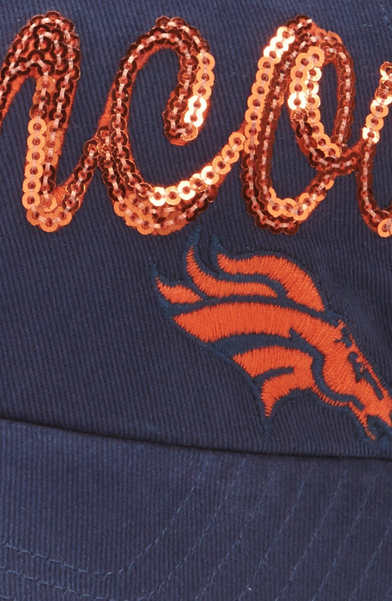 Denver Broncos Sparkle Cap,                             Alternate thumbnail 3, color,                             410