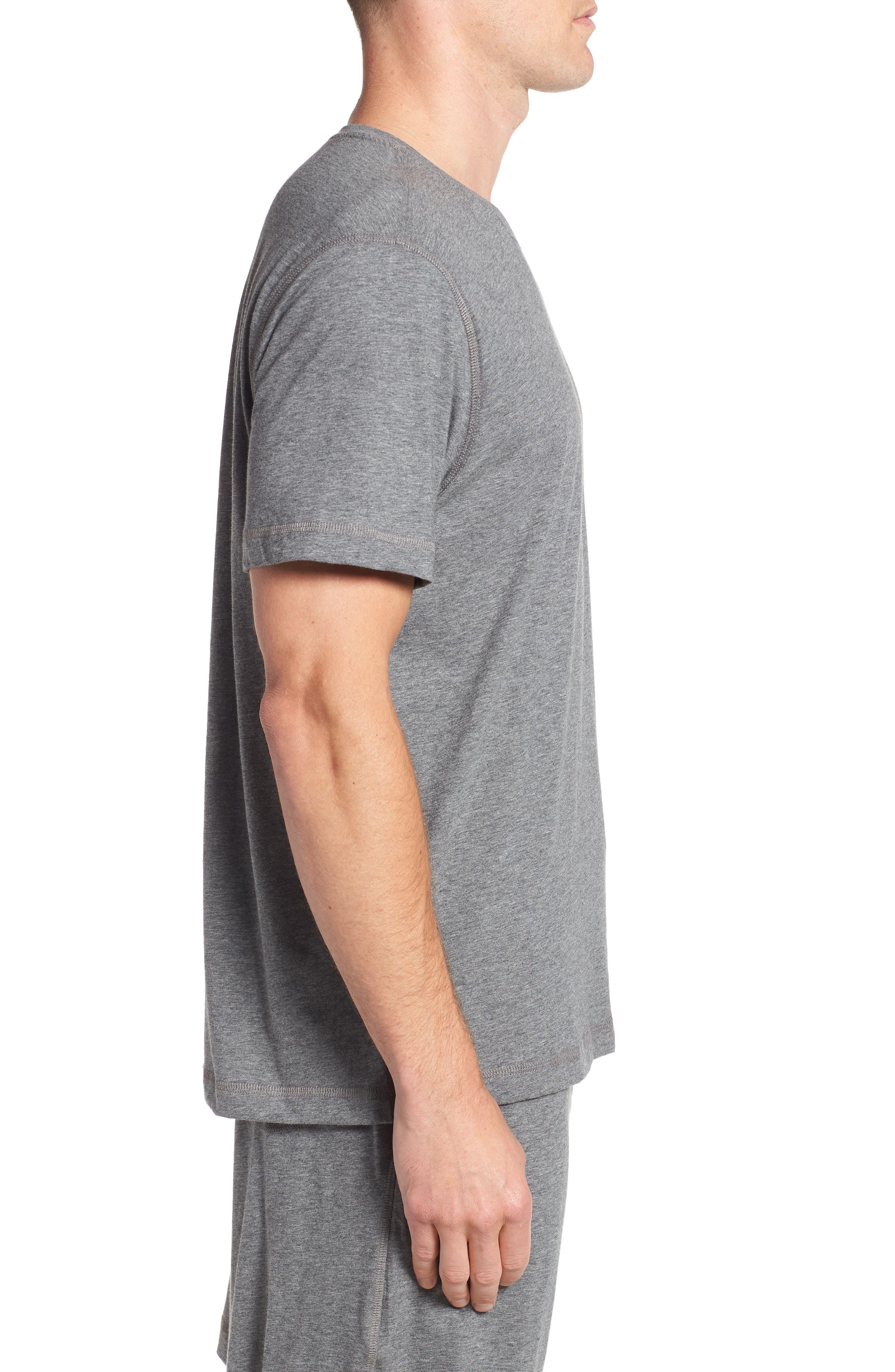 Peruvian Pima Cotton T-Shirt,                             Alternate thumbnail 3, color,                             031